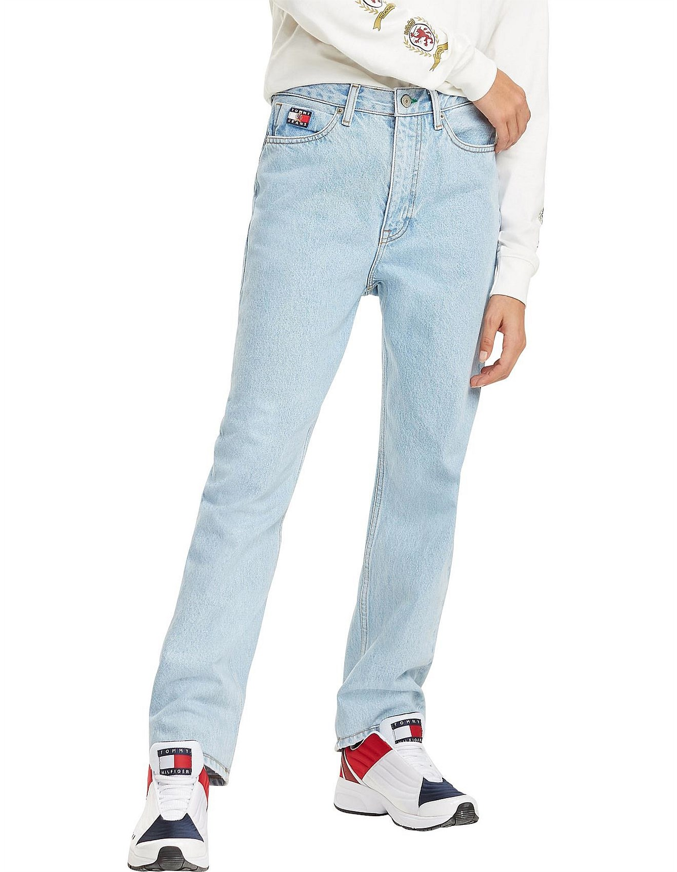 76f63e2e Tommy Hilfiger | Buy Tommy Hilfiger Online | David Jones - Tjw Mom Jeans