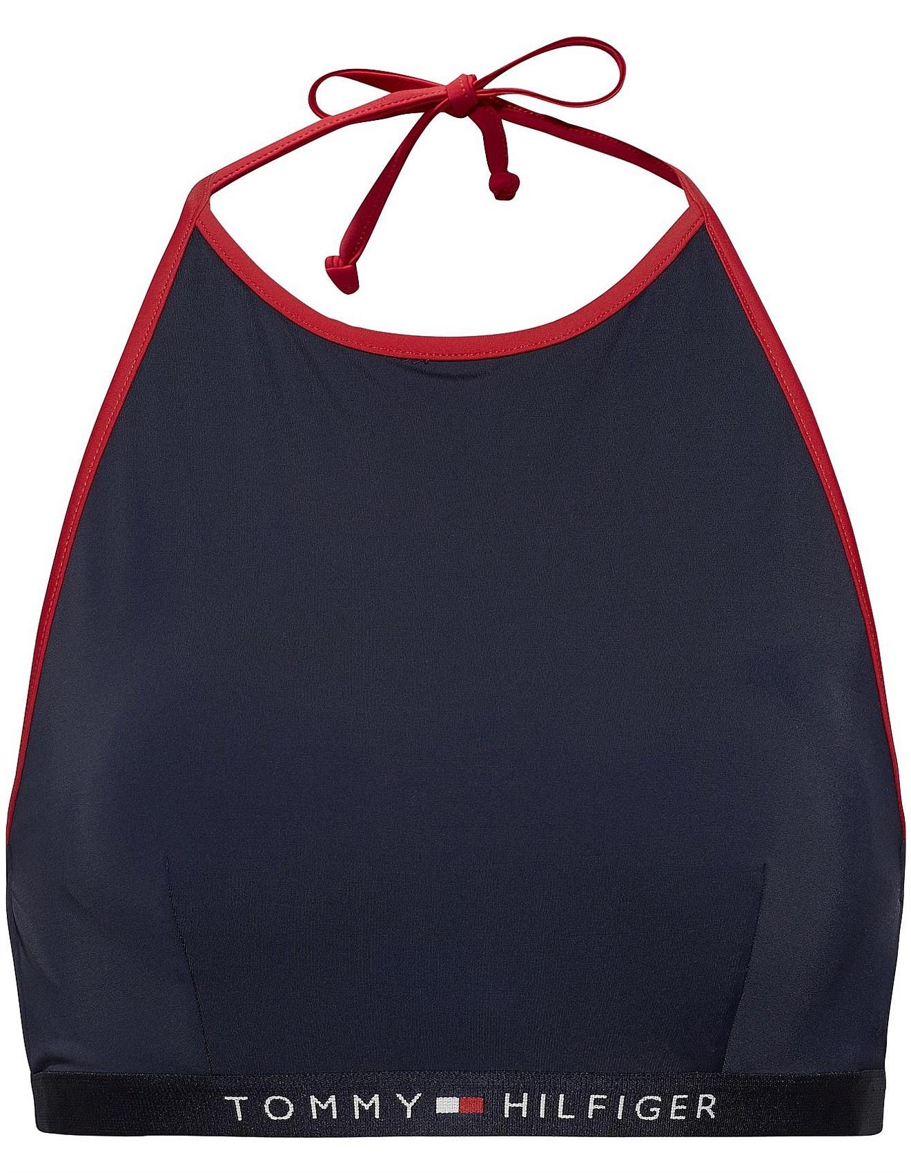 c39be2472 Women's Swimwear | Buy Bikinis & Swimsuits Online | David Jones - Tommy  Hilfiger Logo Crop Top