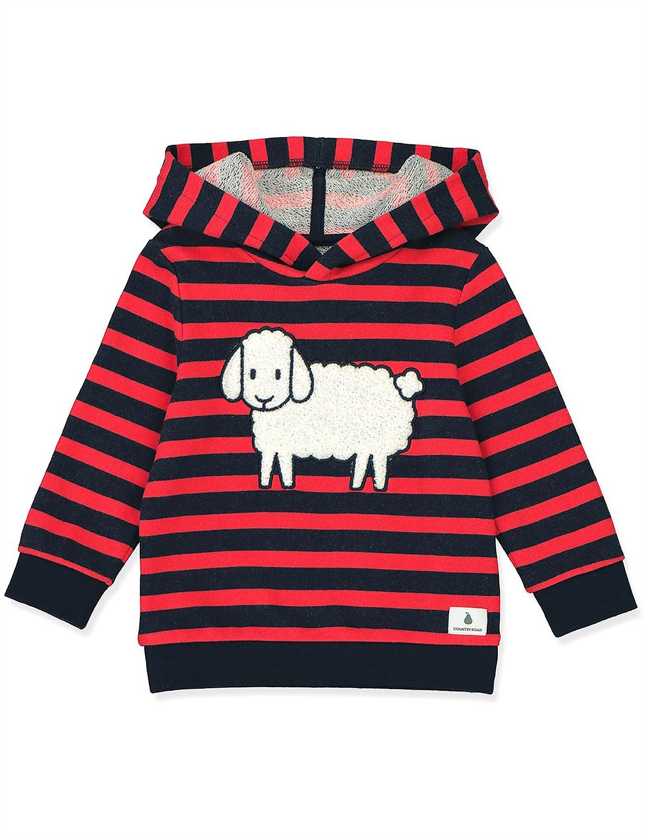 Sheep Stripe Hoodie