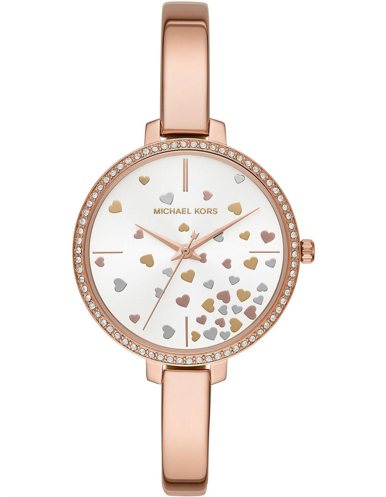 f40d435c2b17 Watches - Michael Kors Jaryn Rose Gold-Tone Watch