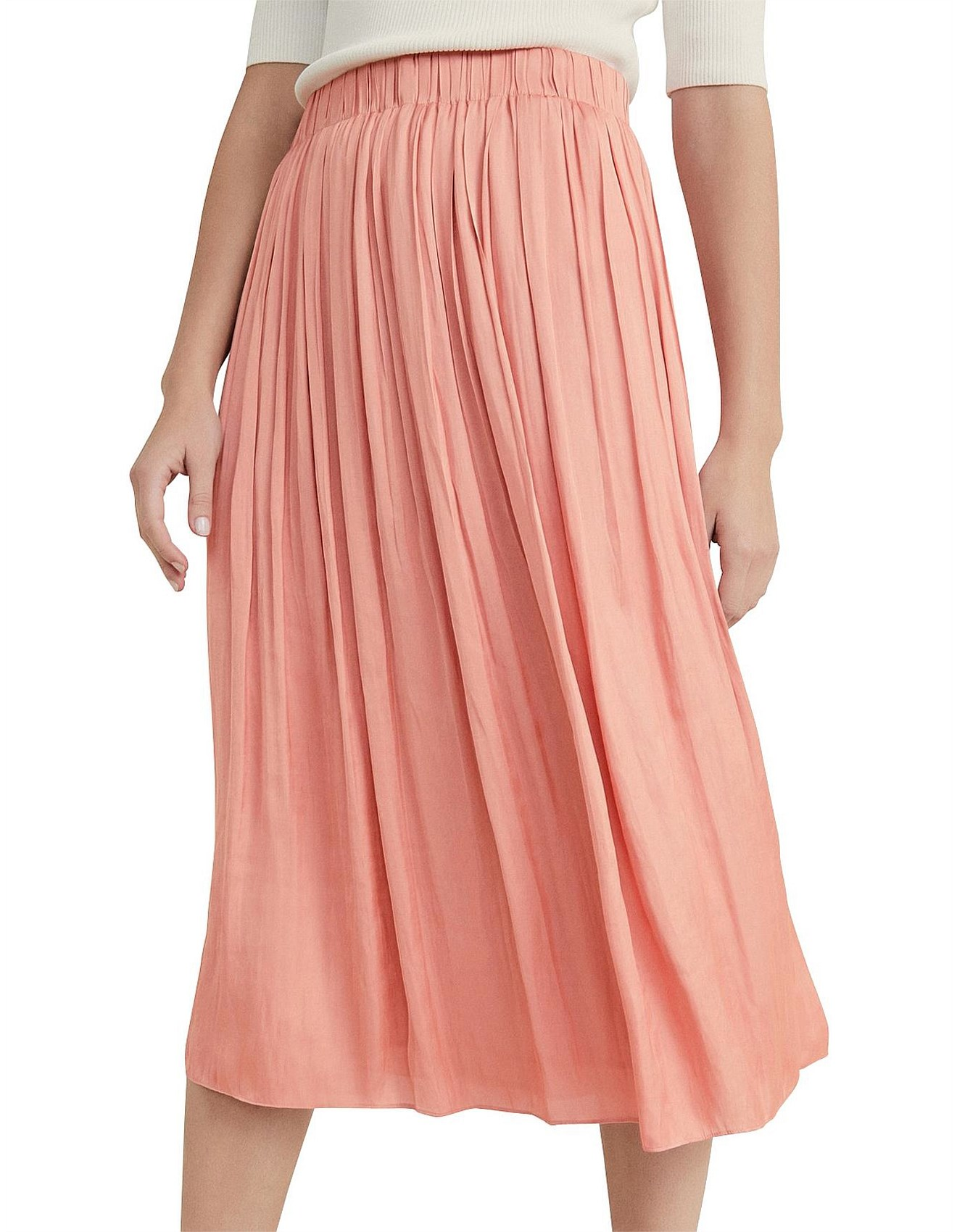 9a2df5d98 Witchery | Witchery Dresses, Shoes & Clothing | David Jones - Soft Pleat  Skirt