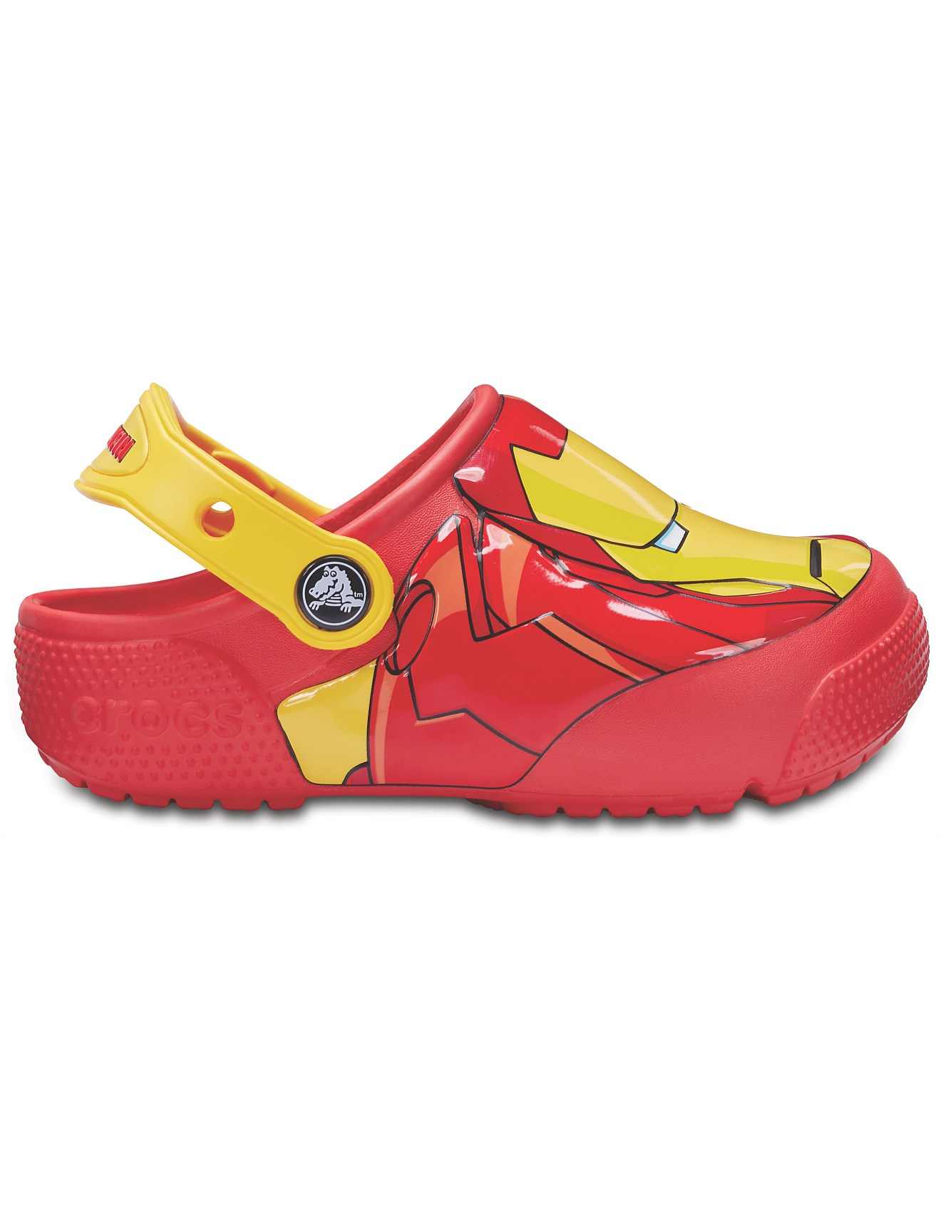 73a395cb3 DISNEY Iron Man Lights Clog