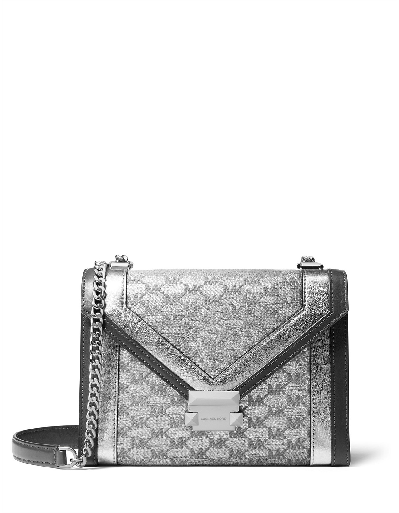 6cf51f83c6563f Women's Cross Body Bags | Leather Cross Body Bags | David Jones - Whitney  Large Logo Convertible Shoulder Bag