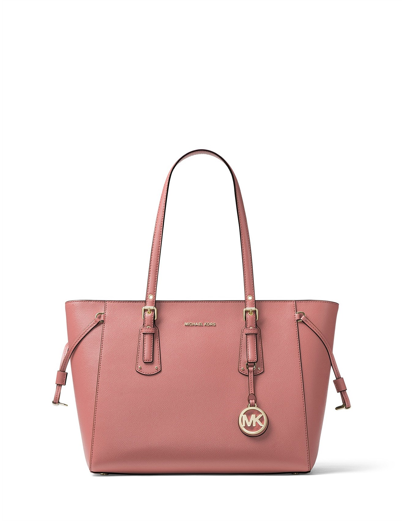 9becccd34 Voyager Medium Crossgrain Leather Tote
