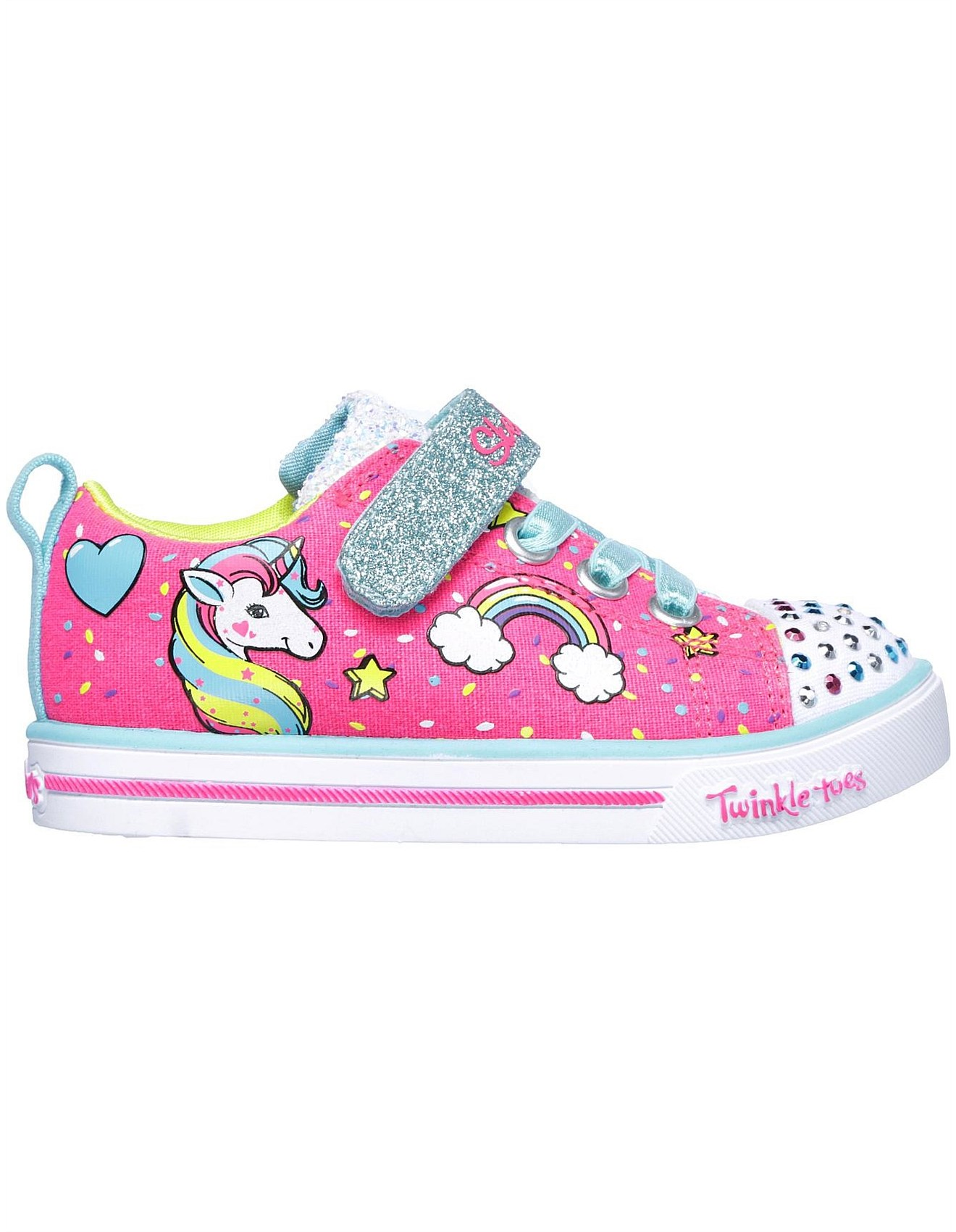 19c37be92c55 Kid's Shoes | Boys, Girls, Baby & School Shoes | David Jones - SPARKLE LITE  - UNICORN CRAZE