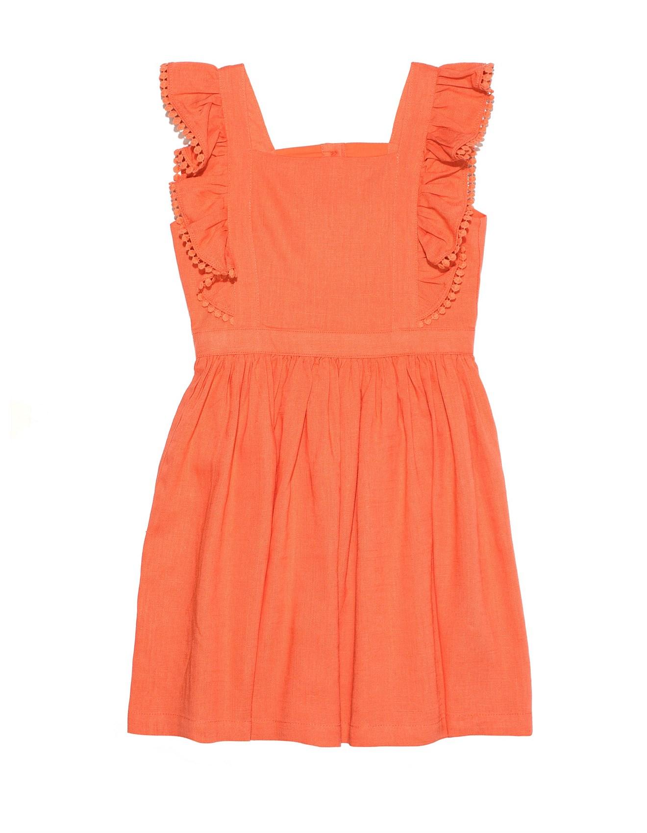 f0c1ab2a66e0 Girl's Dresses & Skirts | Girl's Dresses Online | David Jones - PINAFORE  DRESS