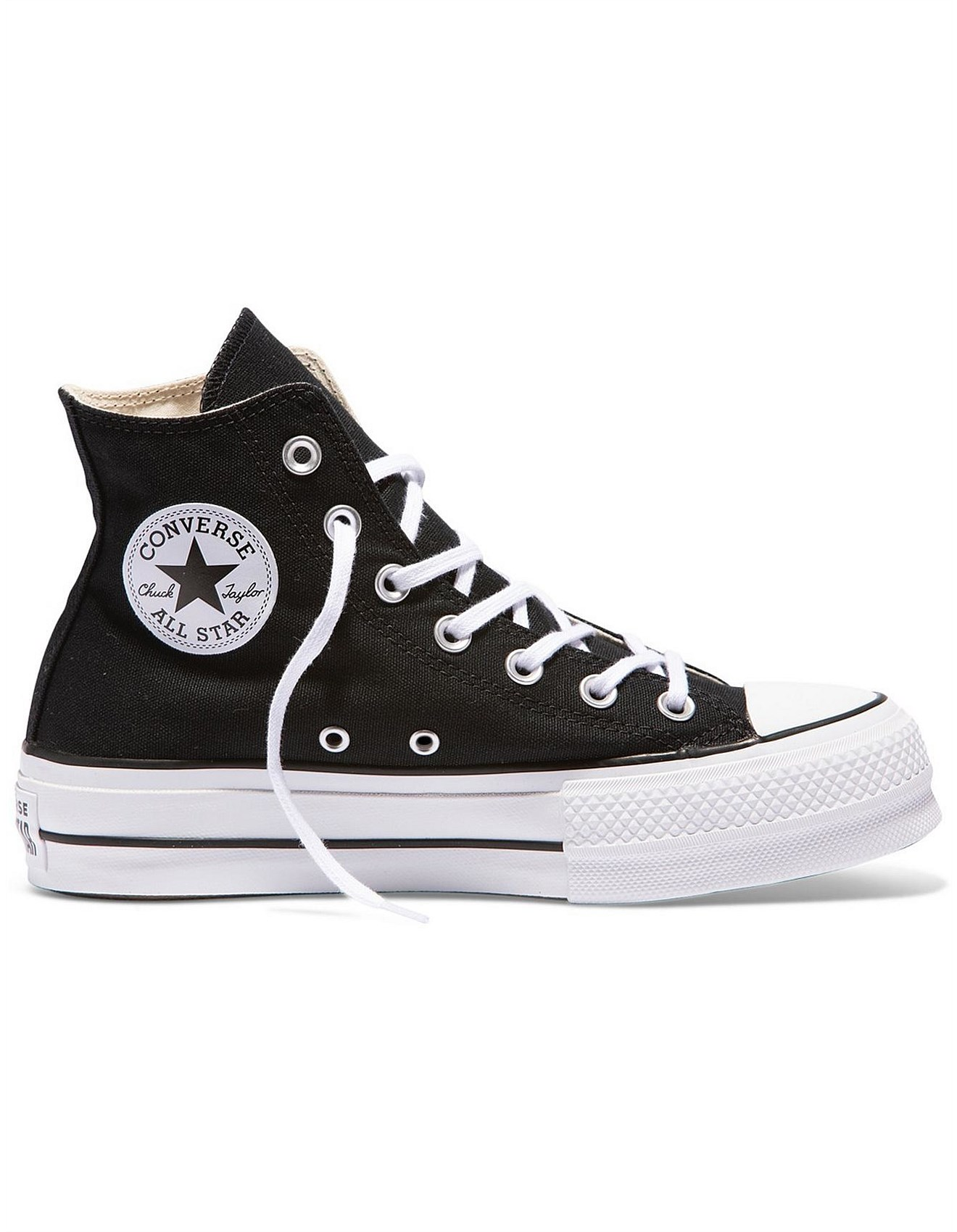 Chuck Taylor All Star Lift Hi BlackGarnetWhite