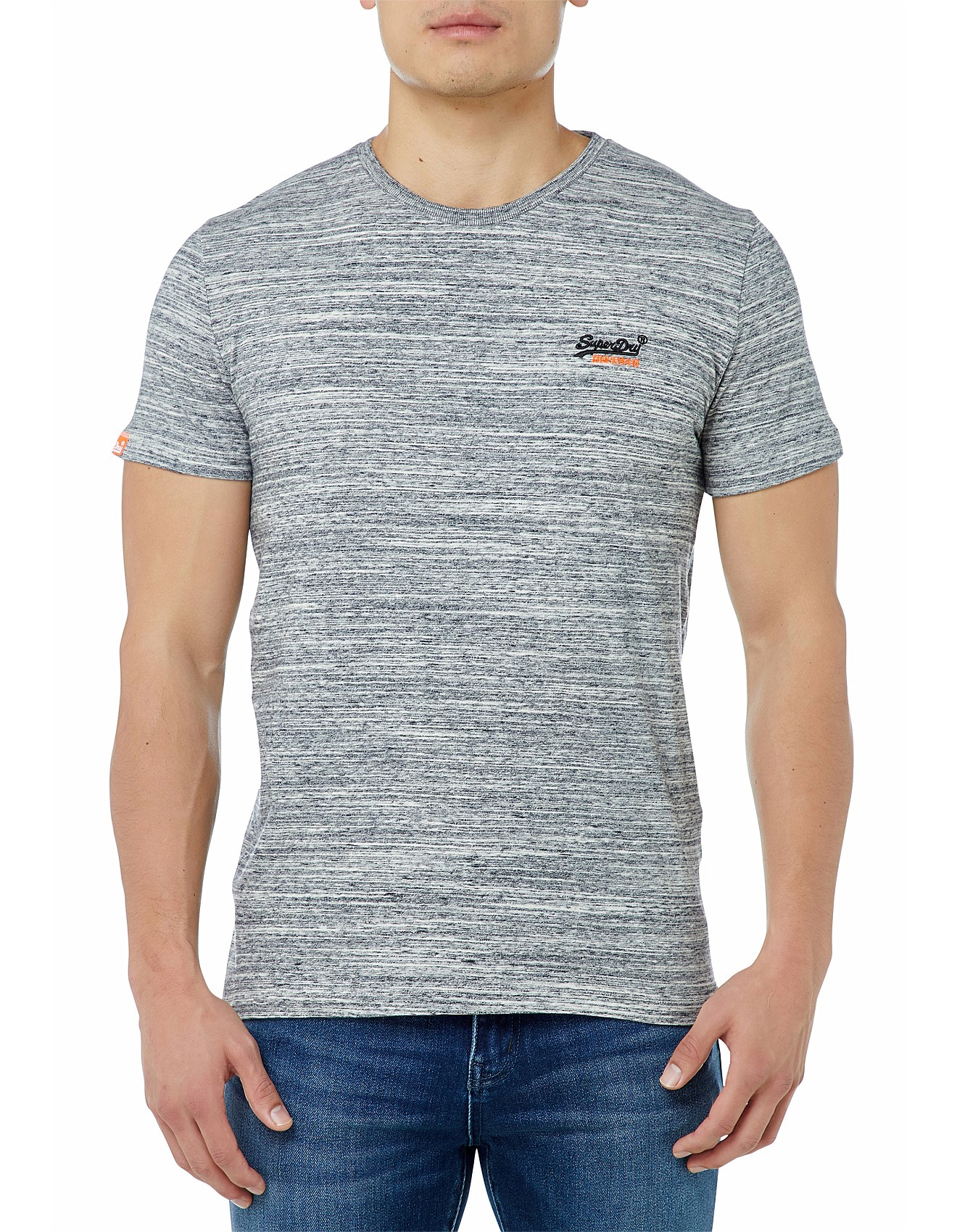 c6d50441 Superdry | Buy Superdry Jackets & Clothing Online | David Jones - Orange  Label Vntge Emb S/S Tee