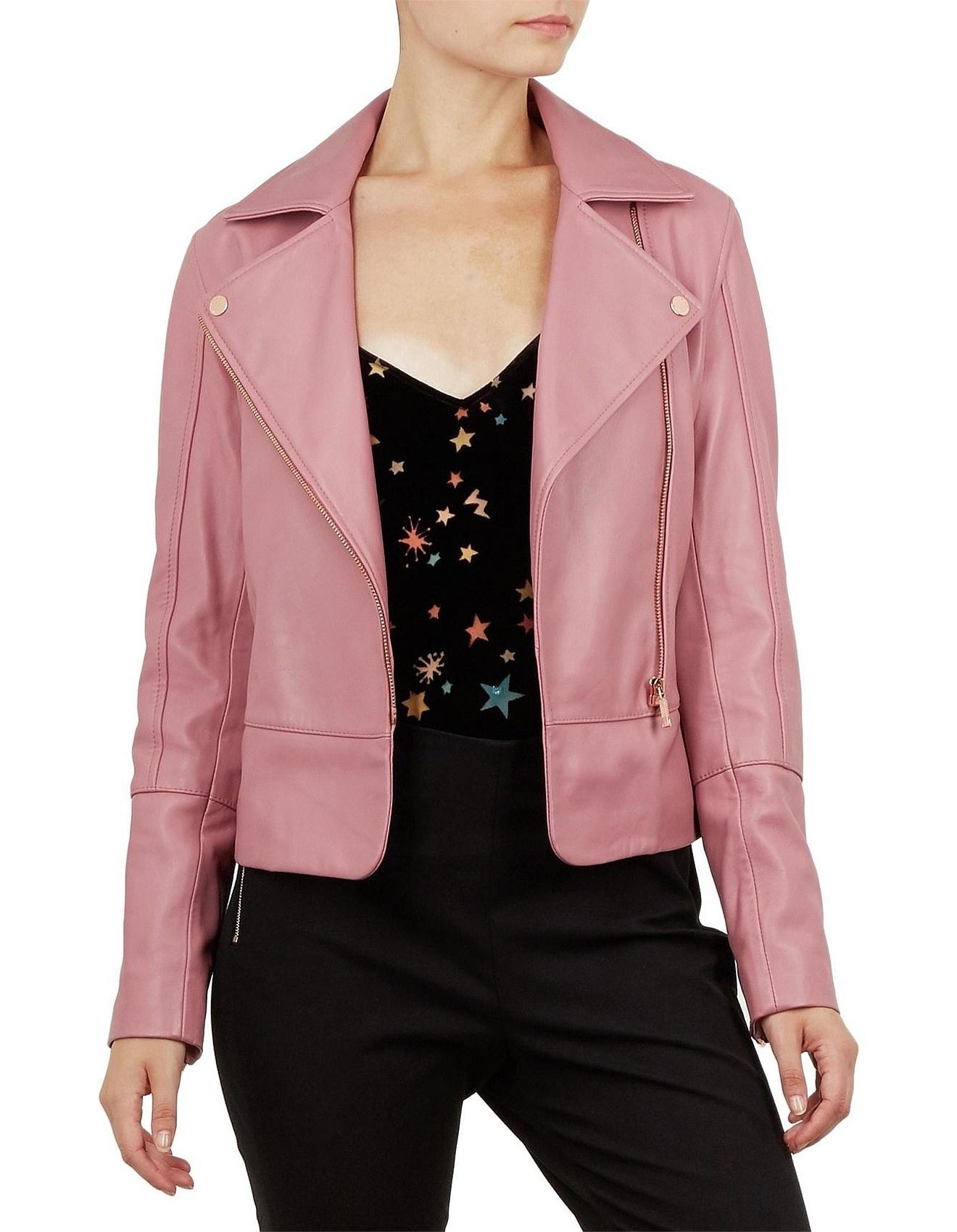 3837aa632 Coats   Jackets - Lizia Minimal Biker Jacket