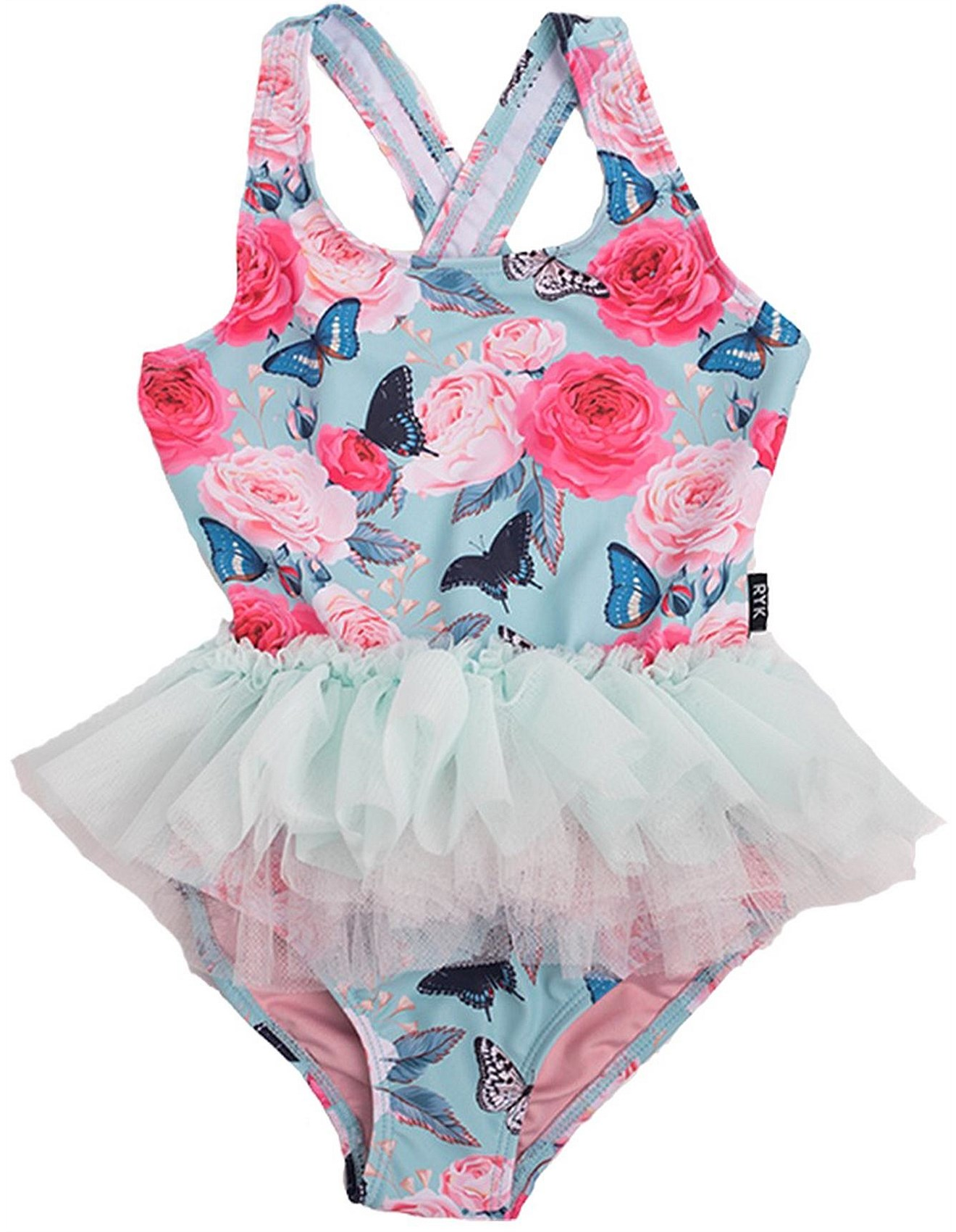 b3b4349fe1ebd Rock Your Kid - Madame Butterfly Tulle One Piece (Girls 2-7 Yrs)