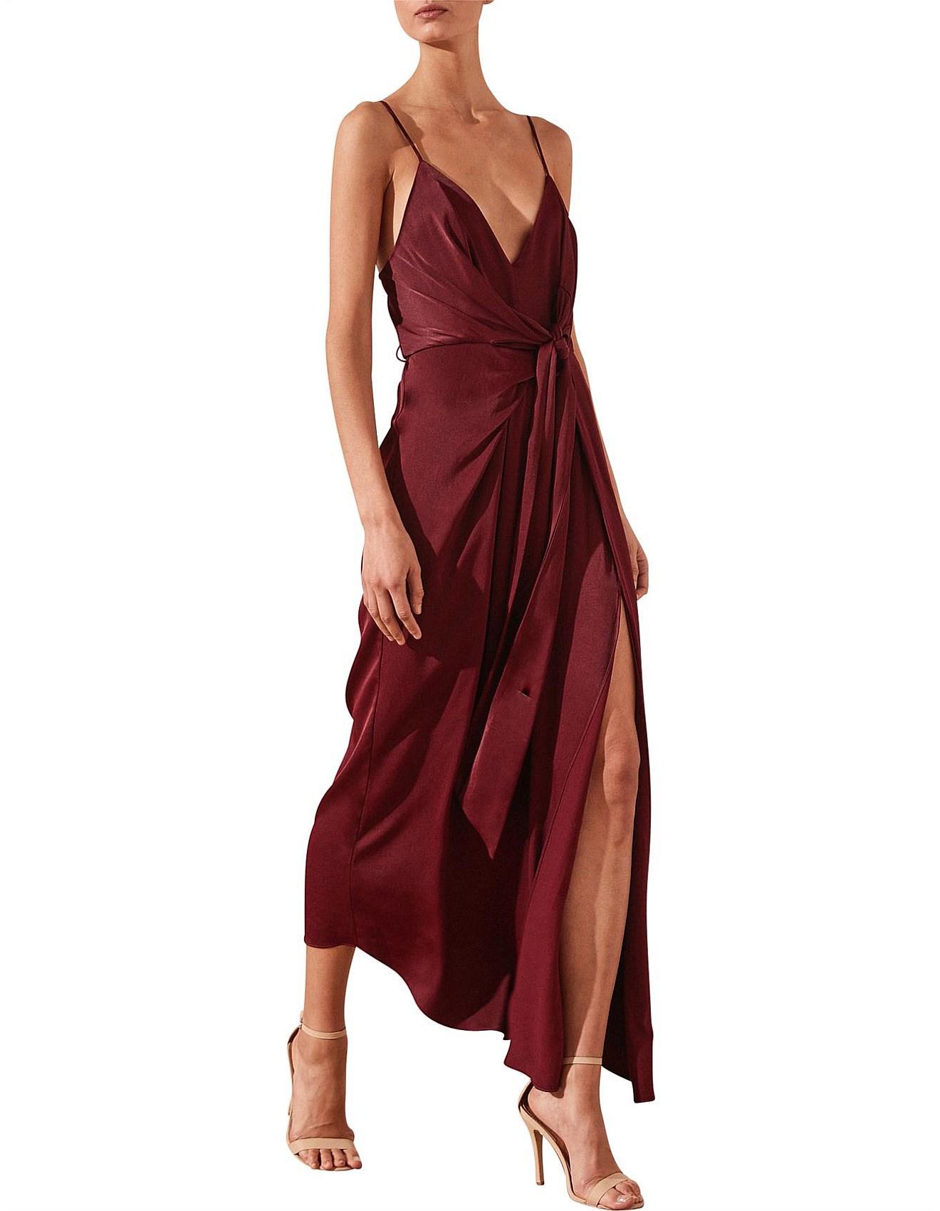 810be20ff53b Shona Joy | Buy Shona Joy Dresses & Clothing | David Jones - Gisele Tie  Draped Midi Dress