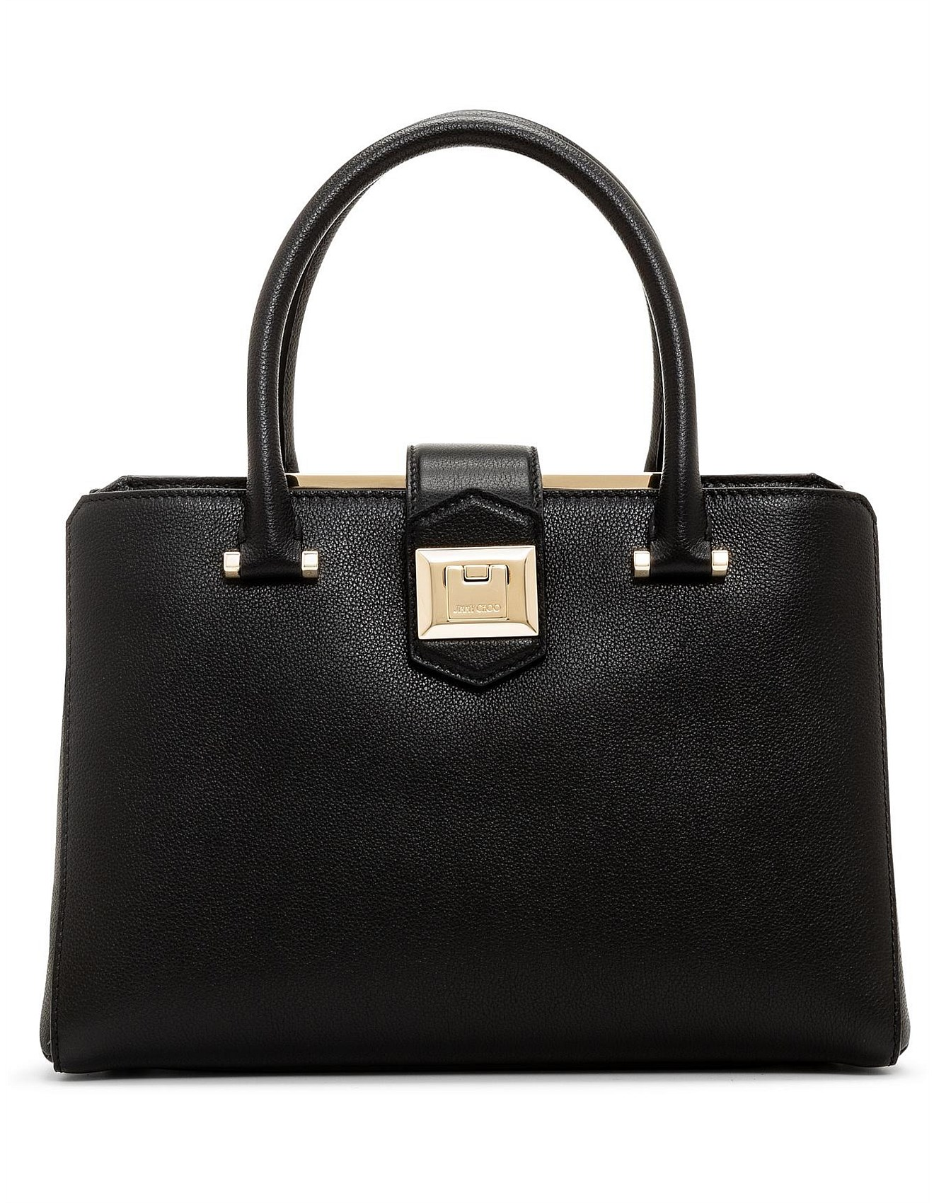 a91f40a7ca Jimmy Choo | Jimmy Choo Perfume & Shoes Online | David Jones - MARIANNE TOP  HANDLE BAG