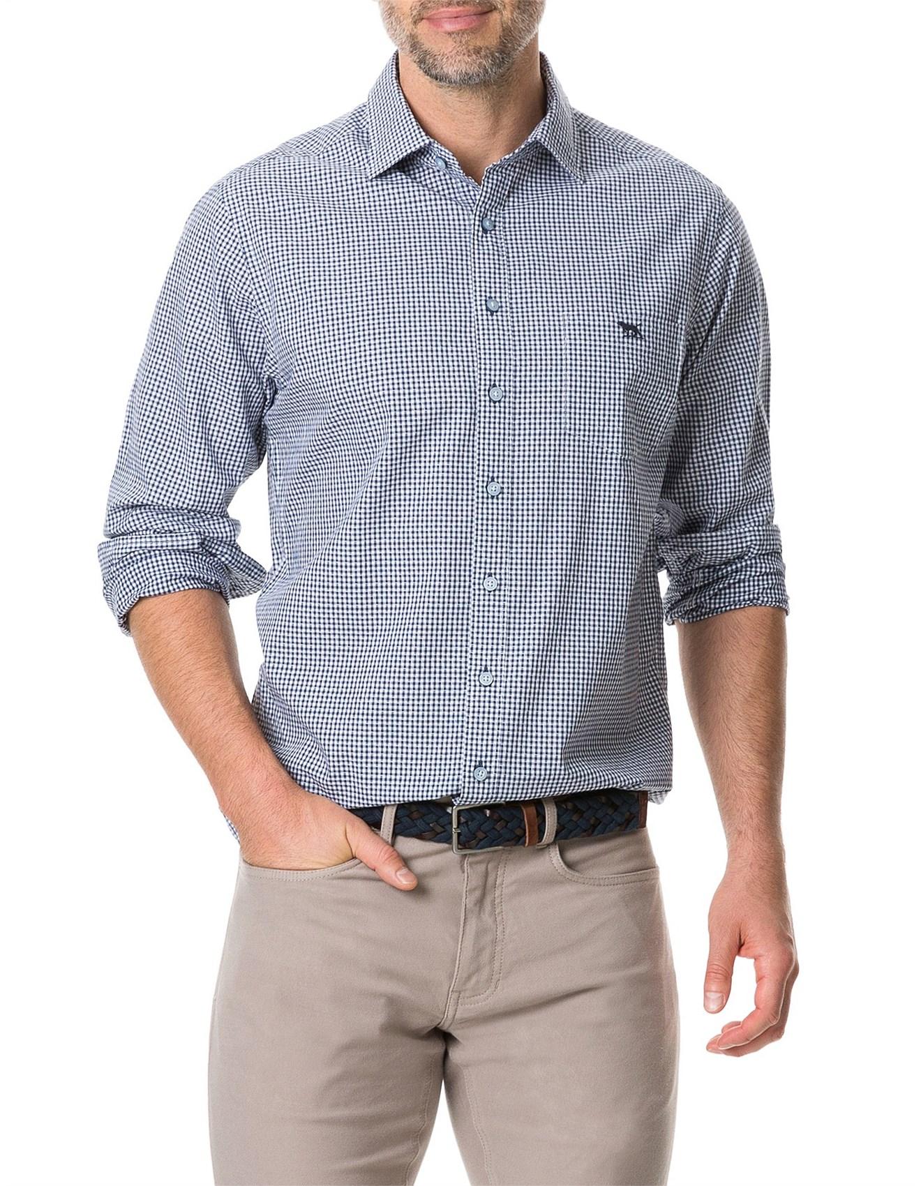 Mens Shirts Casual Shirts Dress Shirts David Jones Lp2806