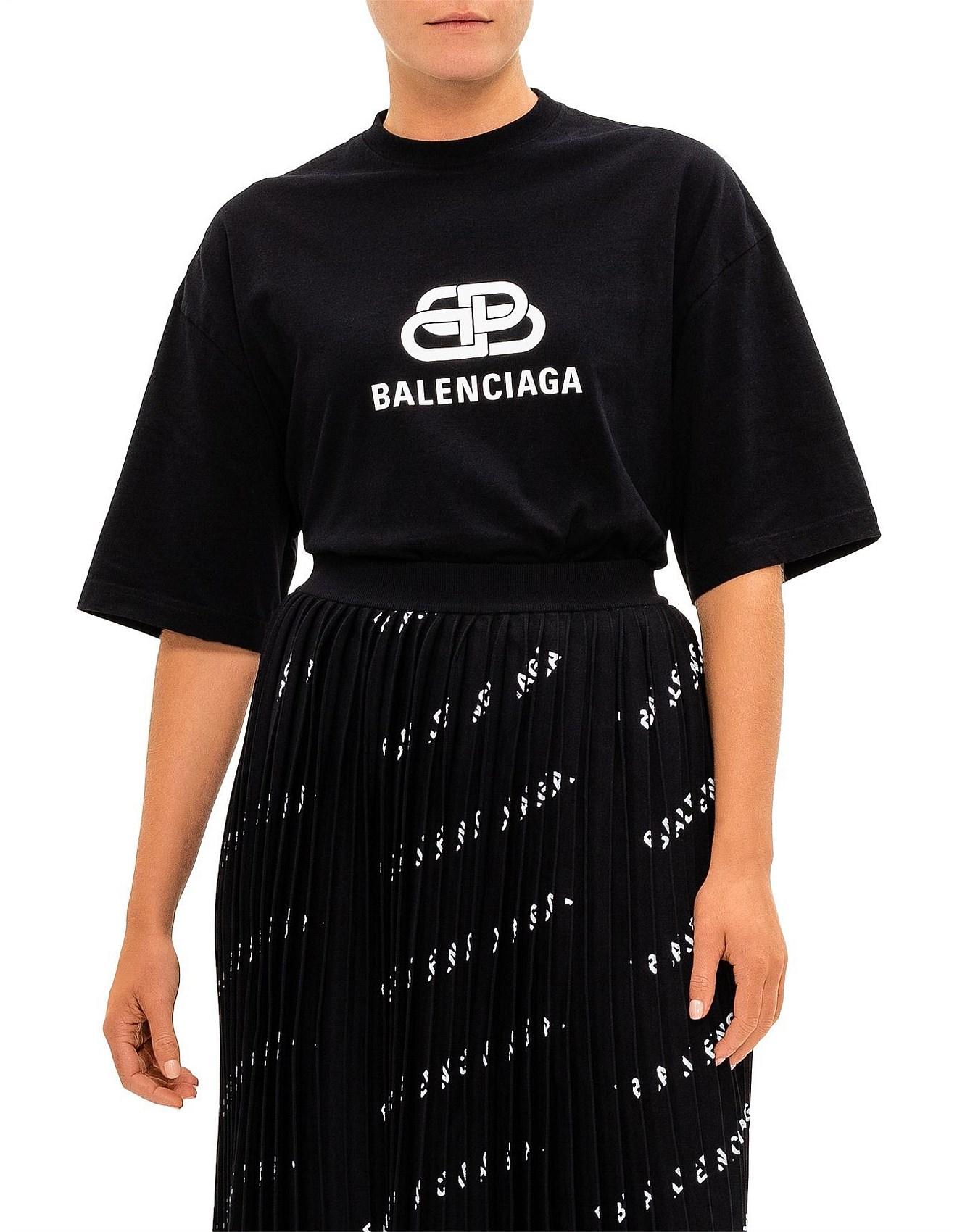 68284f571ff BB Balenciaga New Logo Oversized Tshirt Co