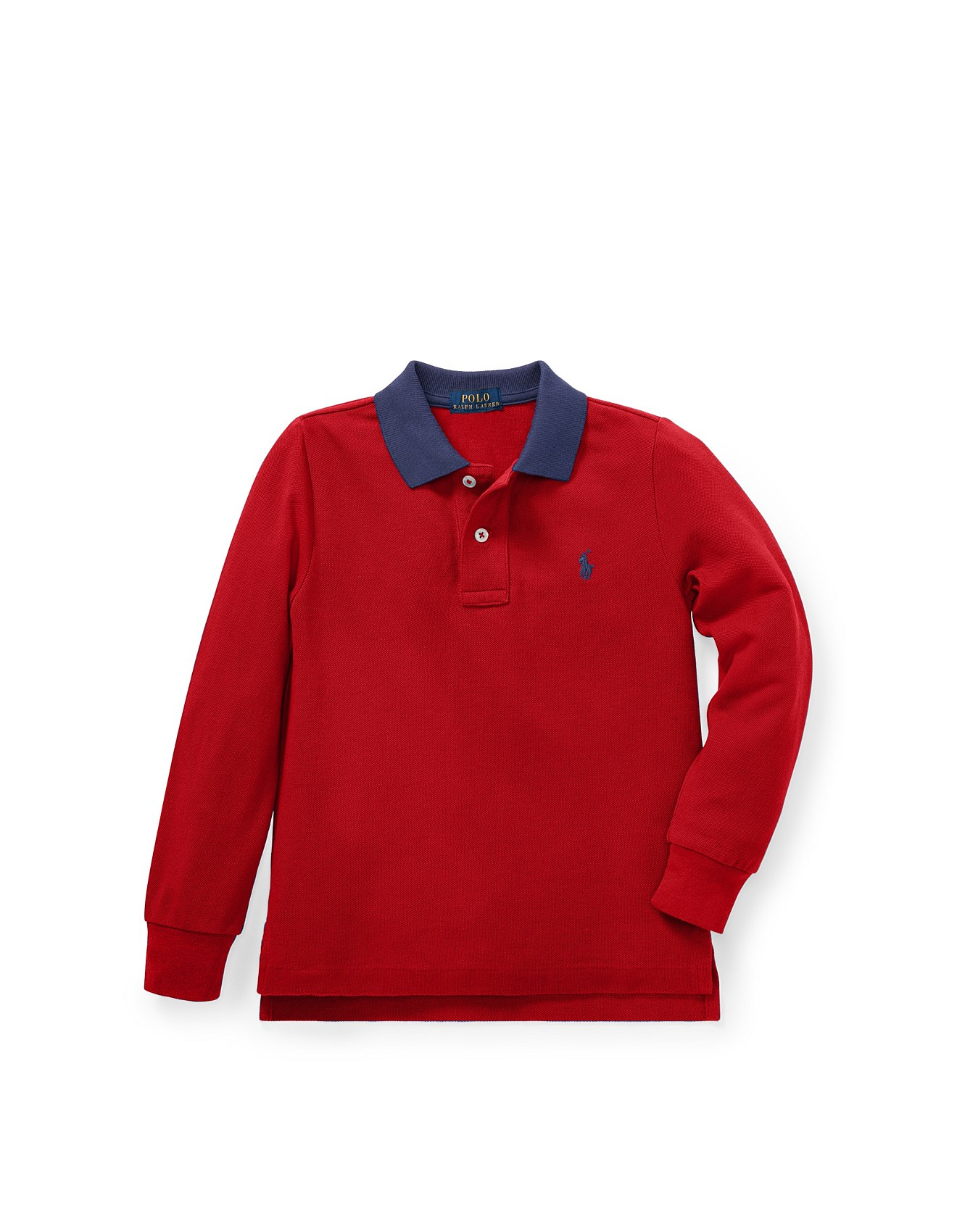 eb74457f0 Cotton Mesh Polo Shirt (2-3 Years)