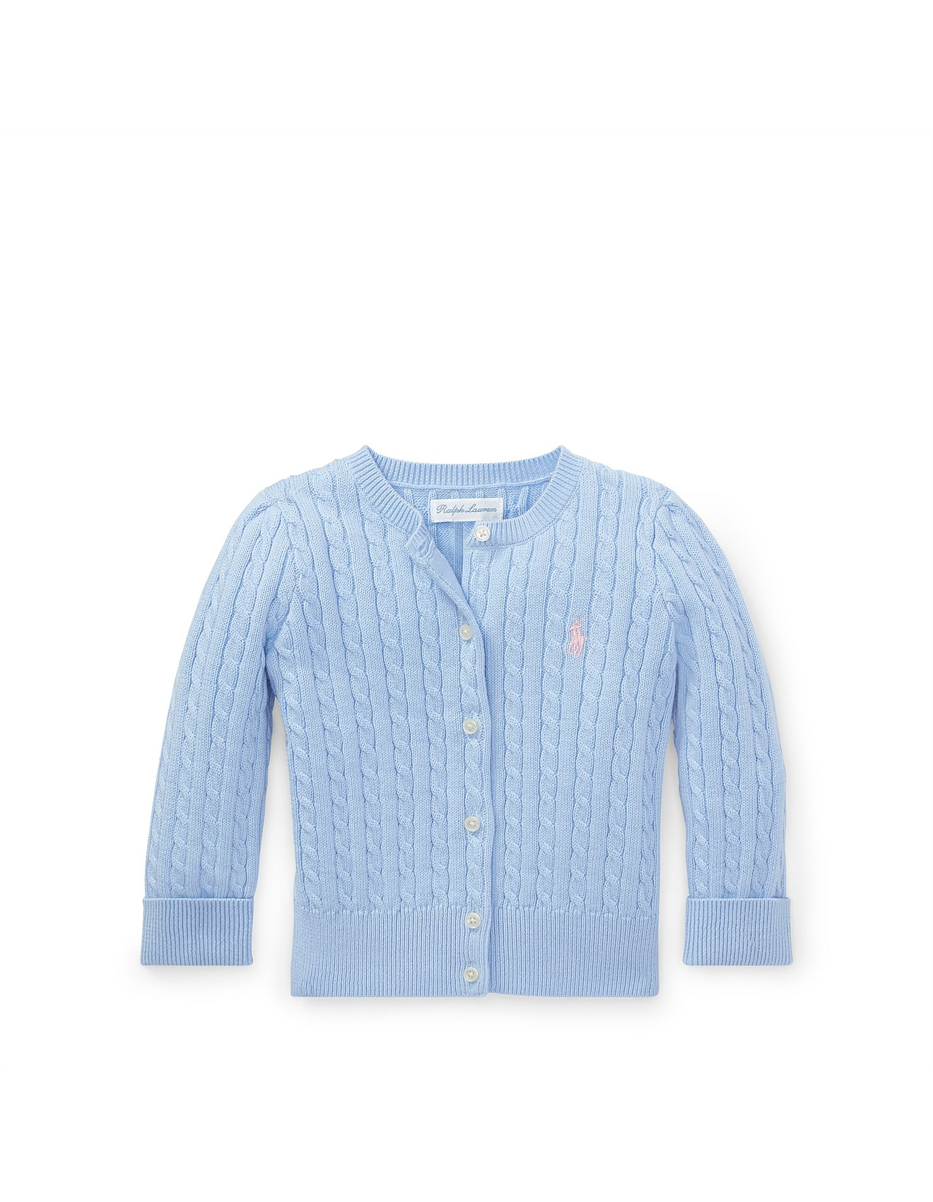 76518b734a Cable-Knit Cotton Cardigan (6-24 Months)