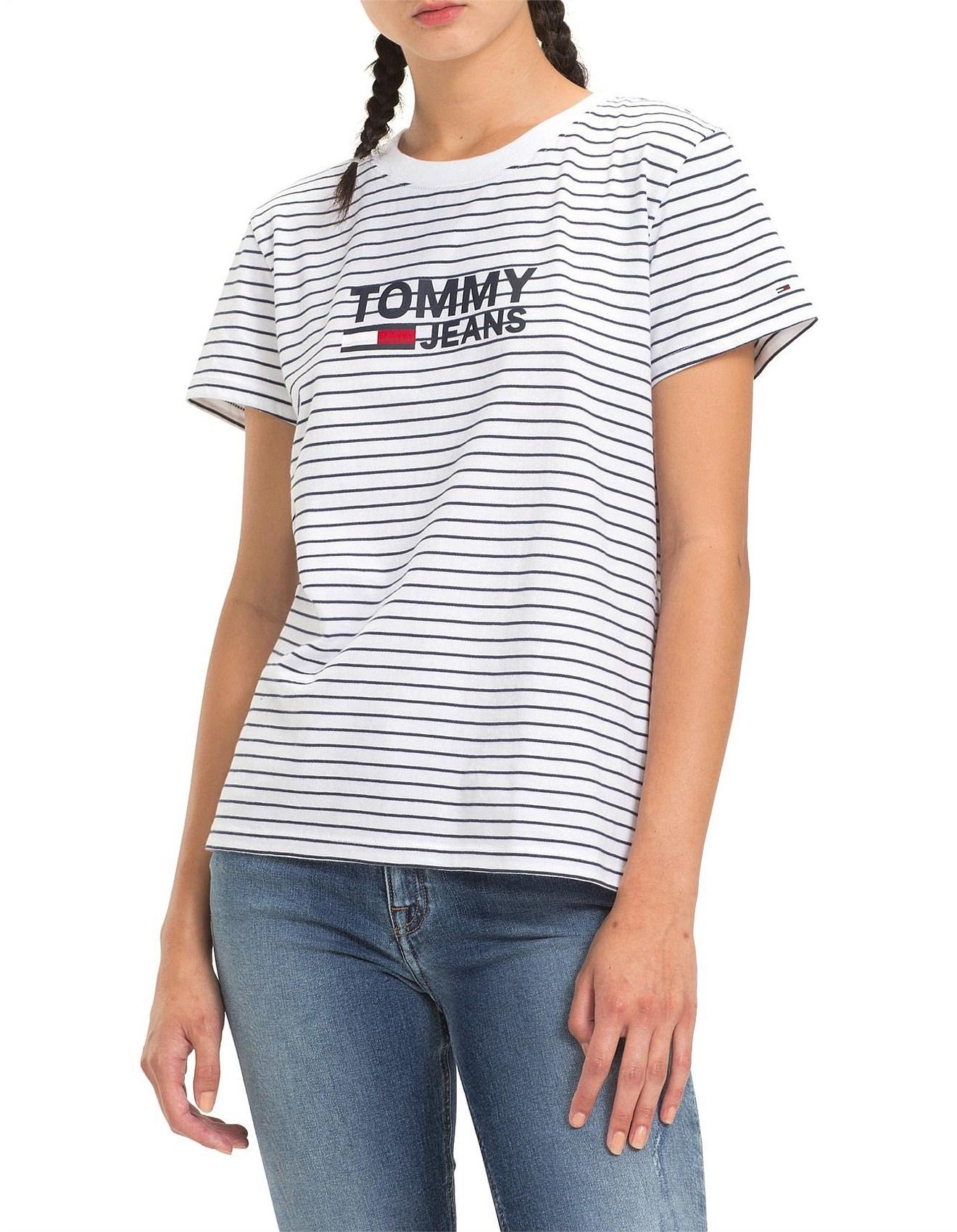 4b2fabacb Women's Tops | Tanks, T-Shirts & Sweatshirts | David Jones - Striped ...