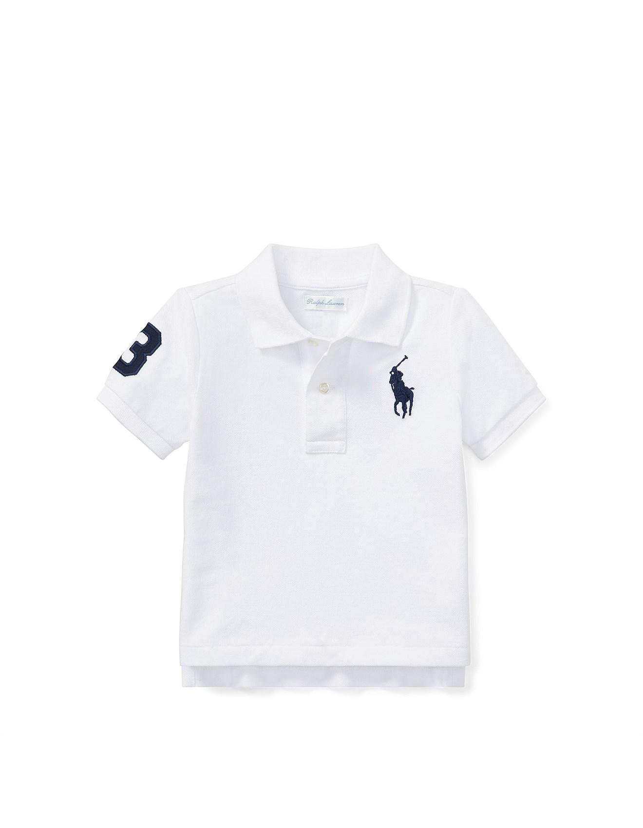 a5194dcf Baby Boy Clothing Sale | Baby Boys Clothes Online | David Jones - Cotton  Mesh Polo Shirt (6-24 Months)