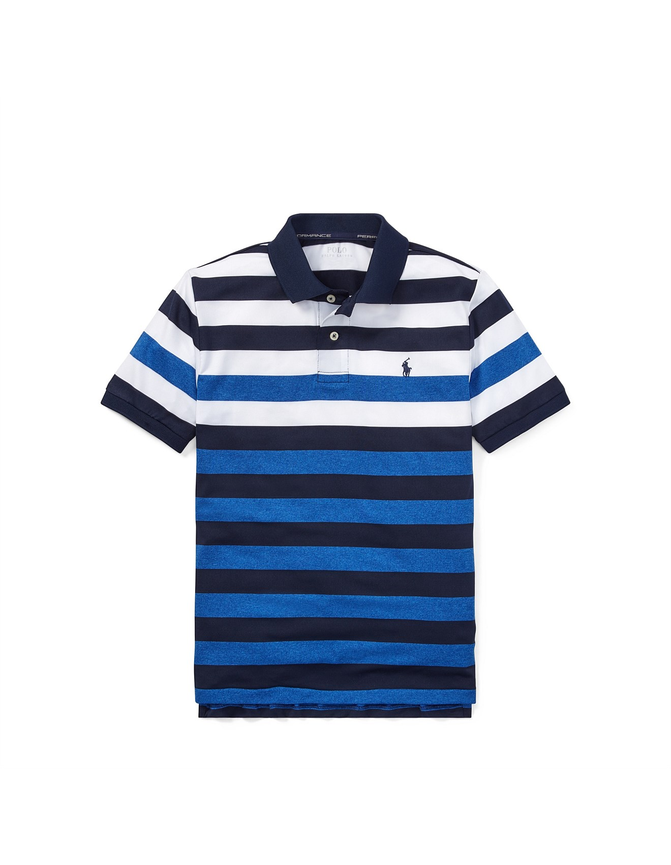 8605cb4833 Striped Performance Lisle Polo (S-XL)