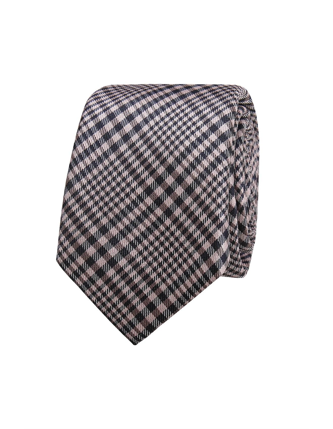 076df879f310 Men's Ties | Business Ties, Skinny Ties & More | David Jones - GLEN CHECK  TIE