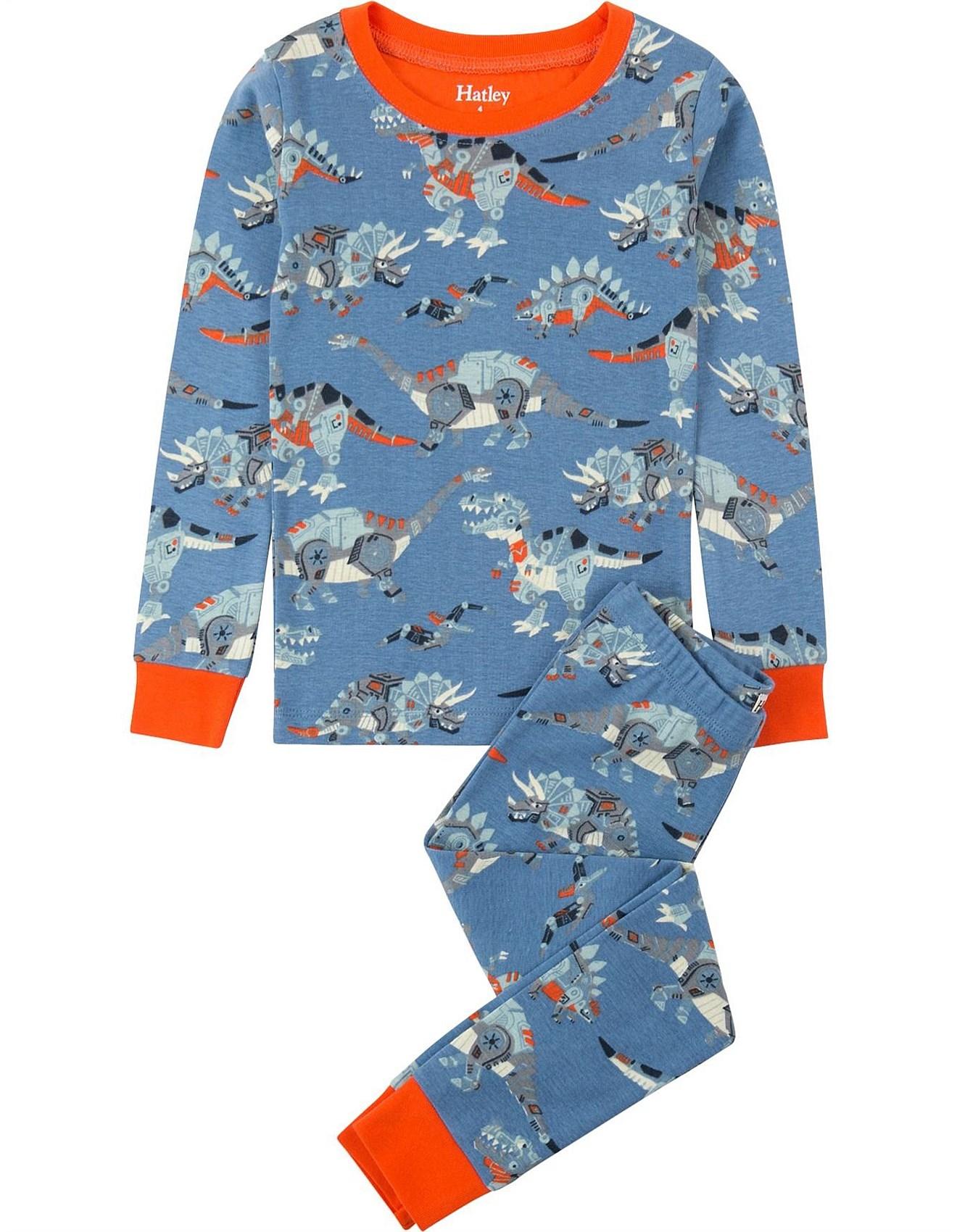 59e62f8f0 Robotic Dinos Organic Cotton Pajama Set