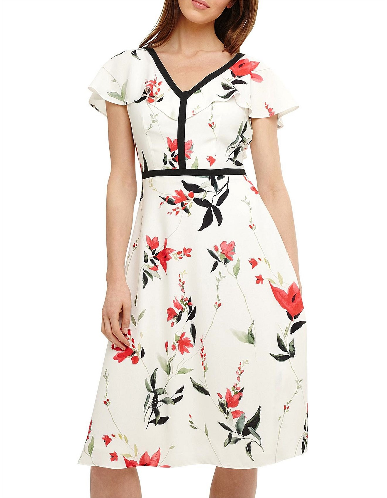 bdd8352b39 Phase Eight | Buy Phase Eight Dresses & Clothing | David Jones - CAYLANA POPPY  FLORAL DRESS