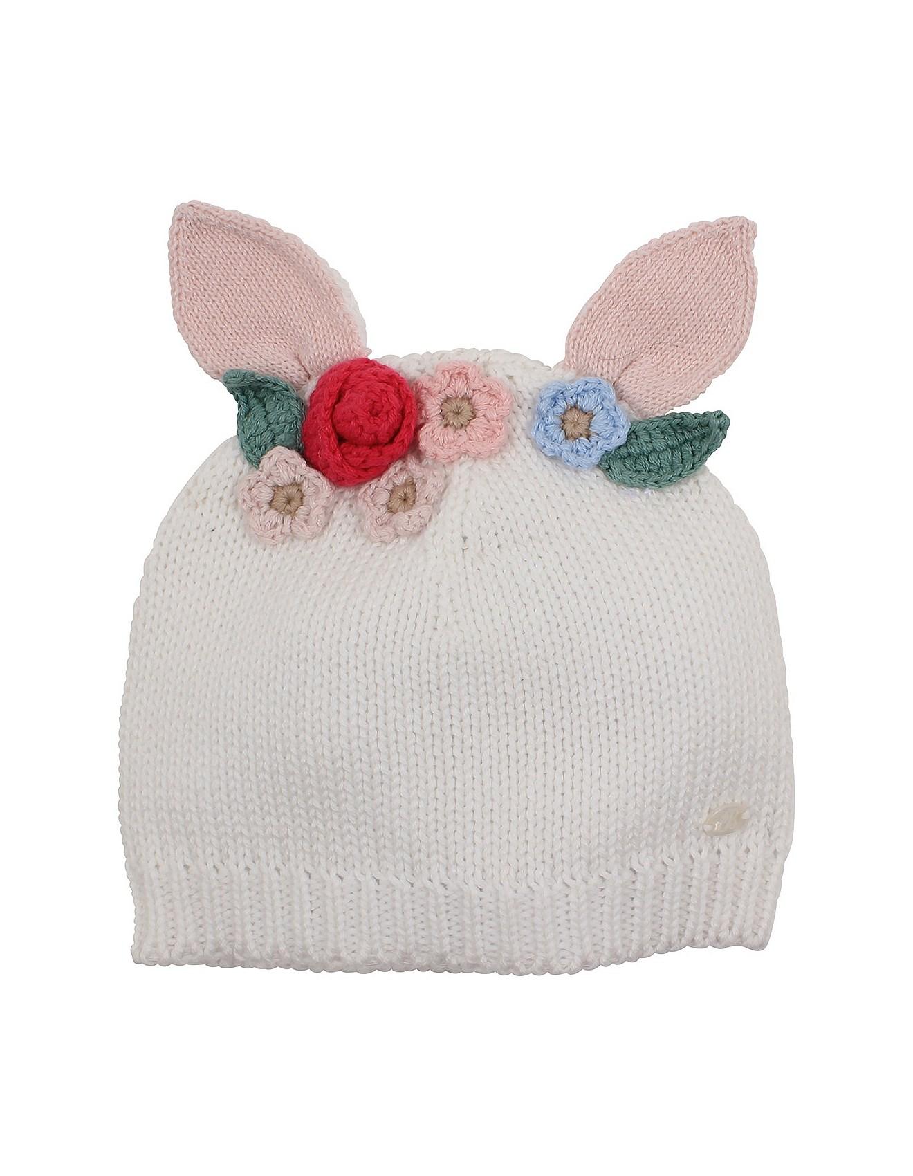 Amelia Bunny Hat(XXS-M)
