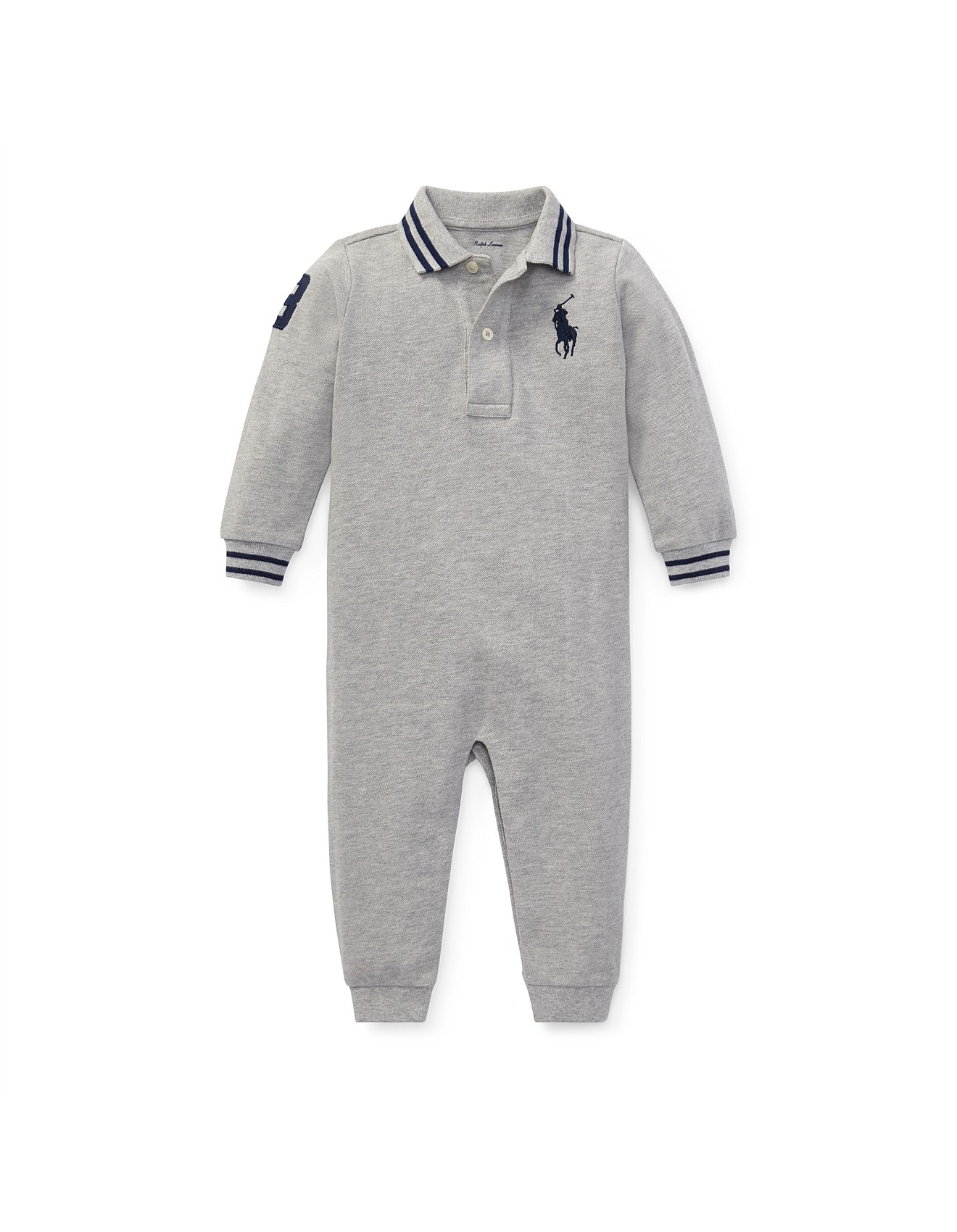 Coverall 3 Cotton Months Mesh 12 Polo u1J3lKTFc