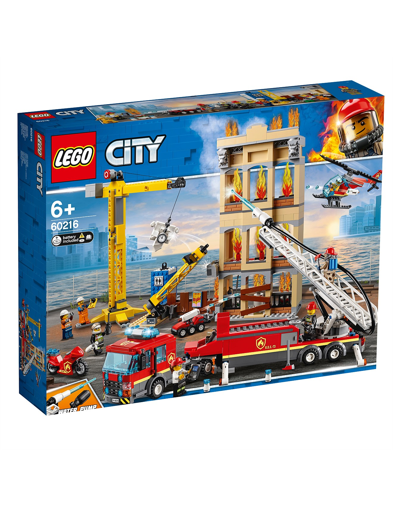 New Arrivals - 60216 City Downtown Fire Brigade