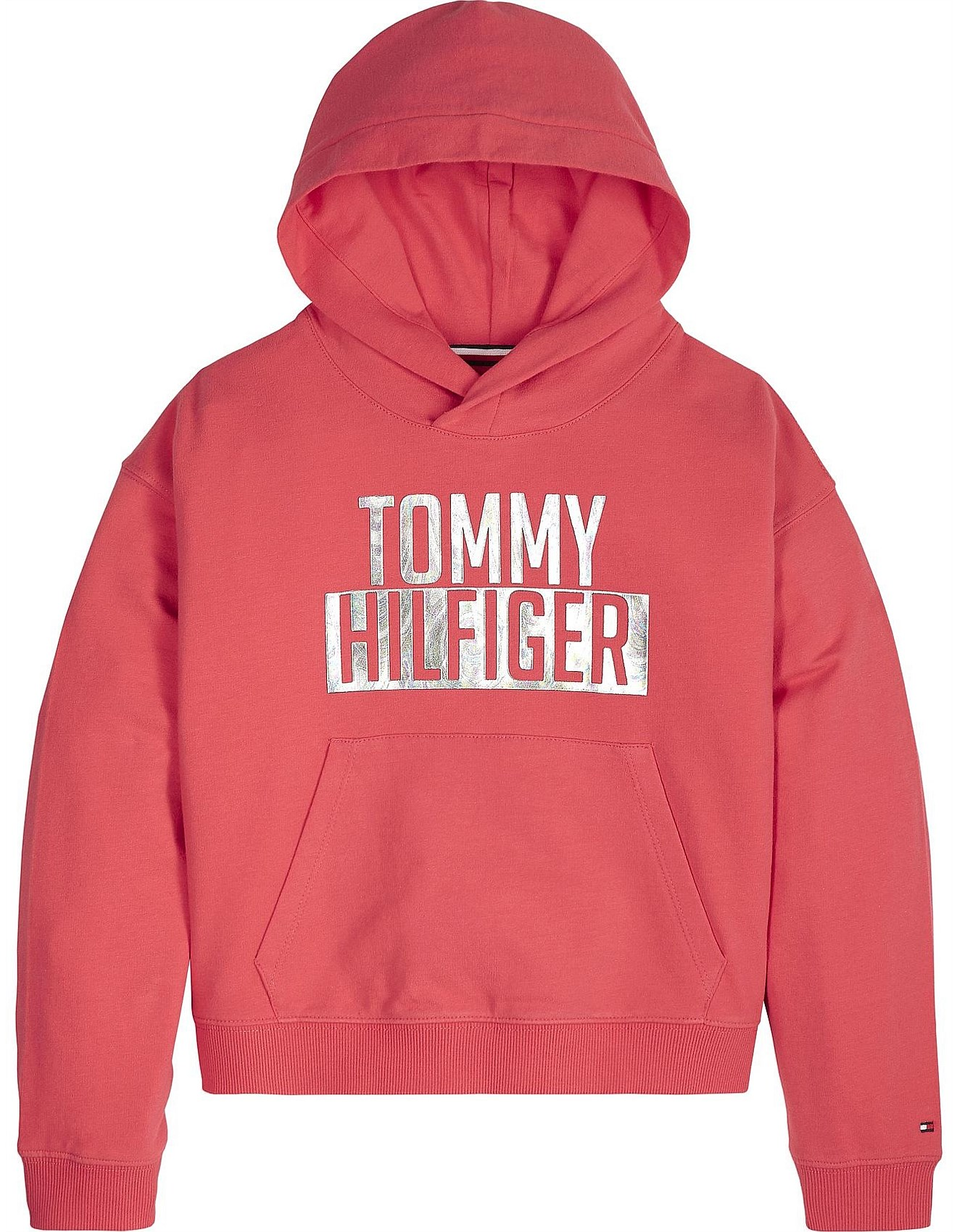 f70710a2 Tommy Hilfiger | Buy Tommy Hilfiger Online | David Jones - Essential Logo  Hoodie (Girls 3-7 Years)