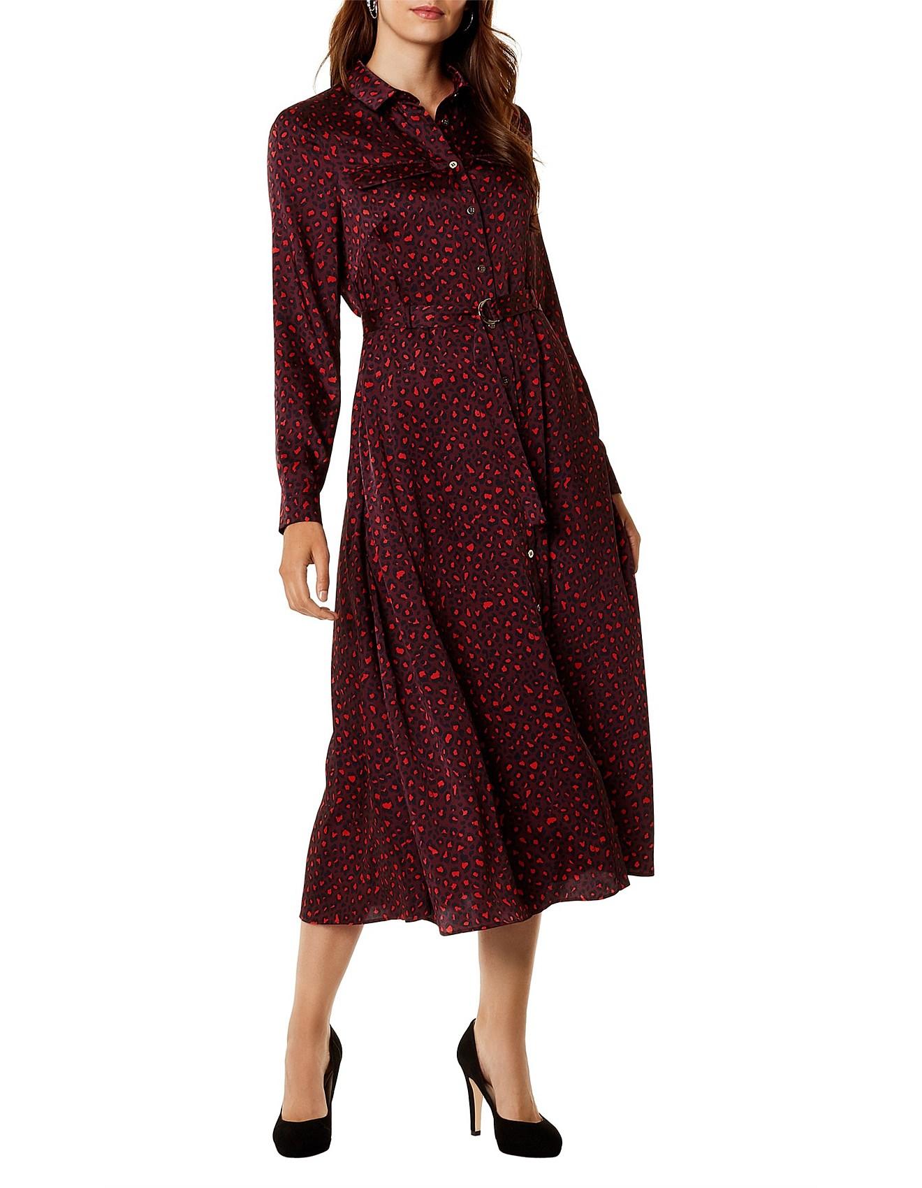 fd759ddbc39 Karen Millen   Buy Karen Millen Clothing Online   David Jones - LEOPARD  PRINT MAXI DRESS
