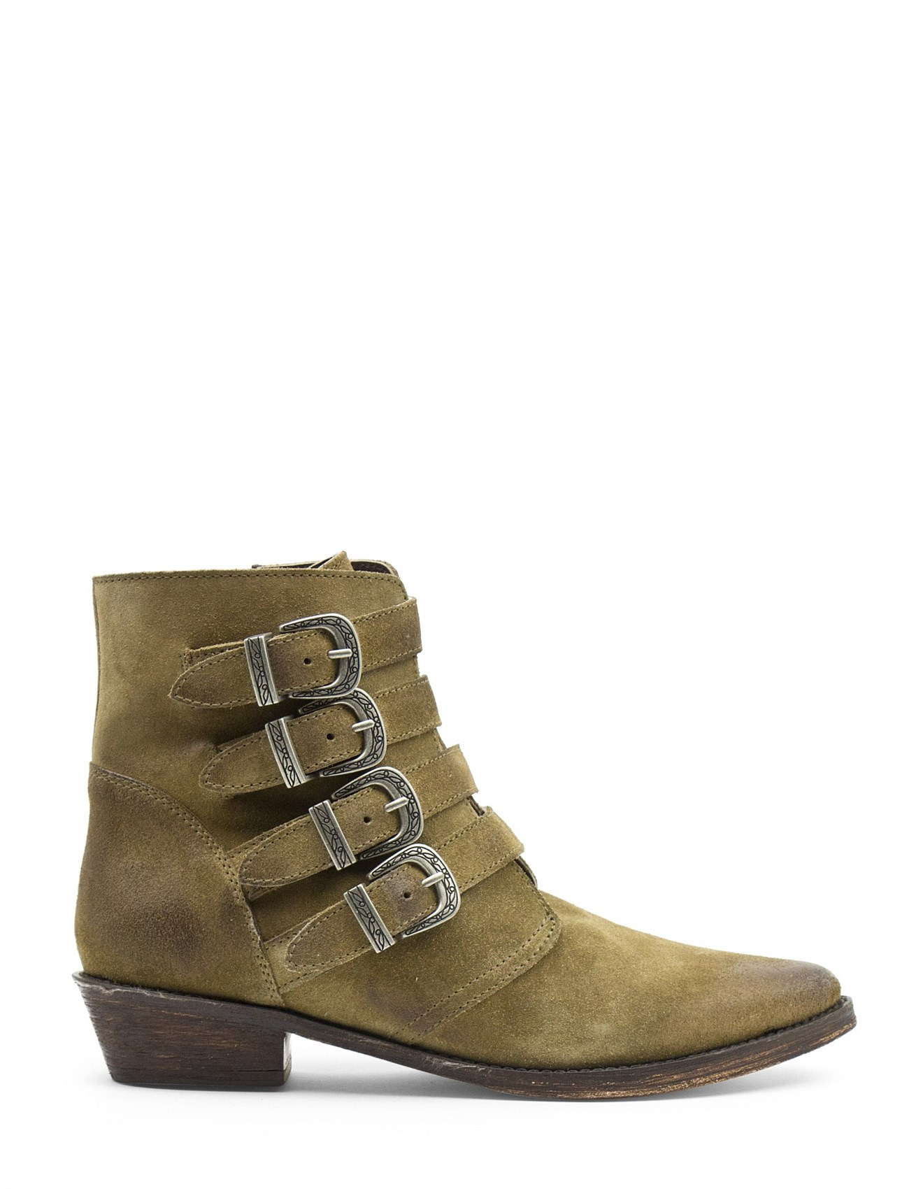 beautiful in colour great discount sale hot products VIDAL 4 BUCKLE WESTERN BOOT