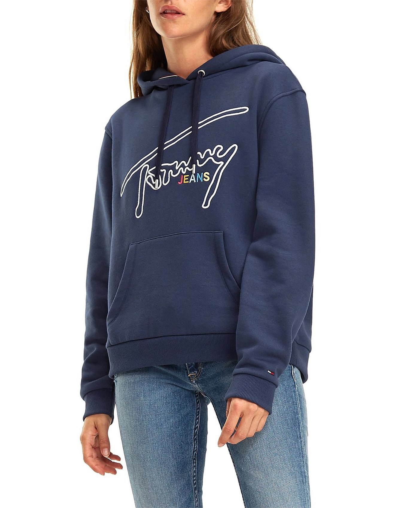 16d0f3330 Clothing - Tommy Signature Hoodie