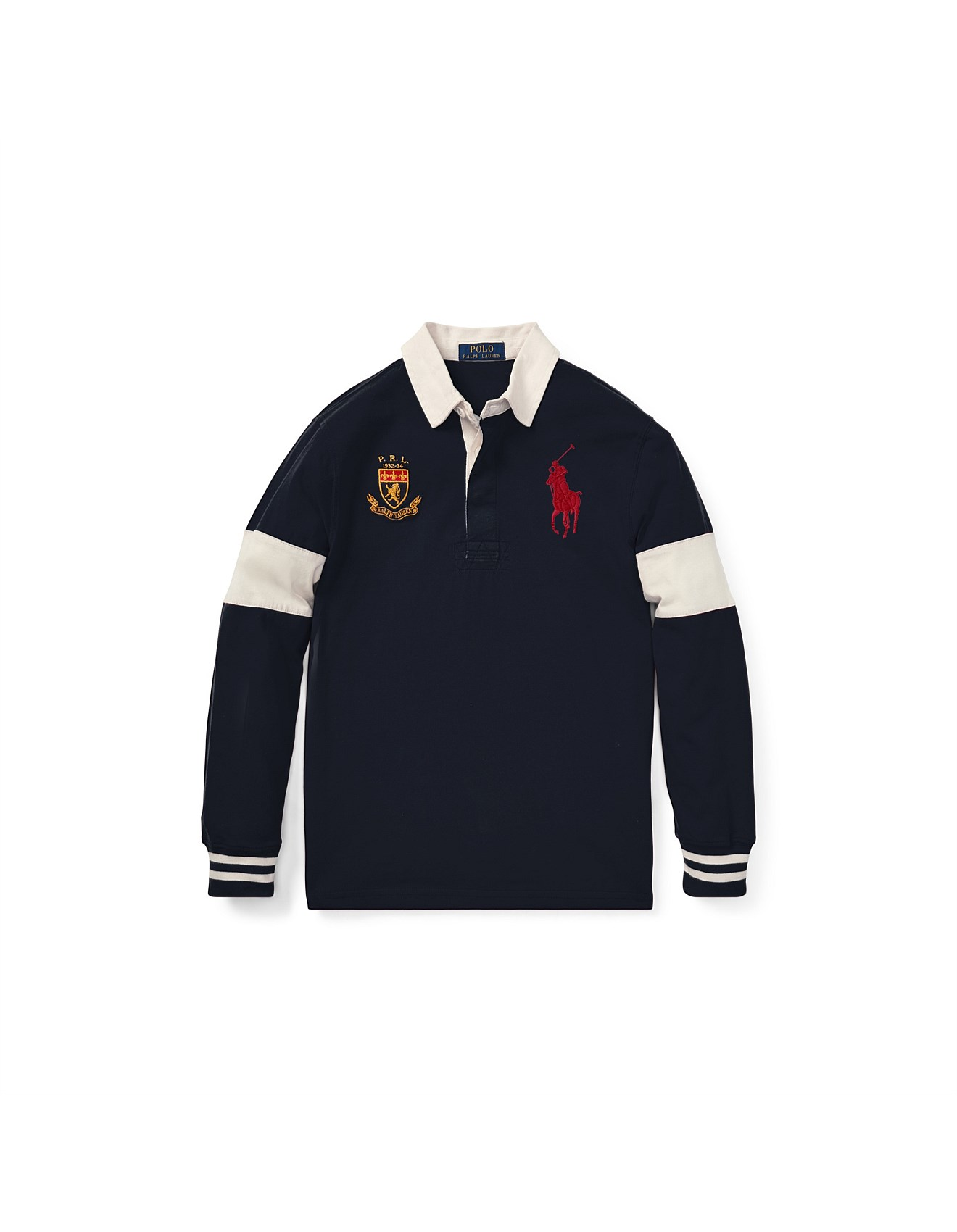51be0ae6a79 Boys Clothing - Big Pony Cotton Jersey Rugby Top (S-XL)