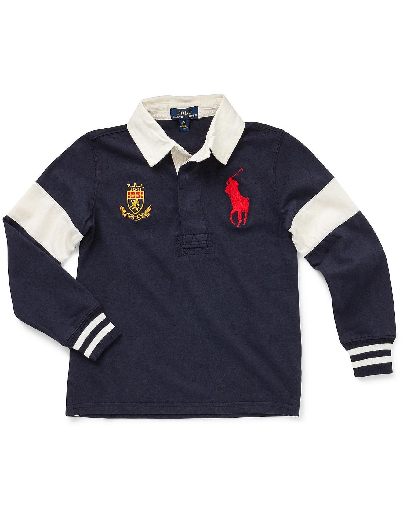 3beefb05533 Boy's Tops & T-Shirts   Boy's 2-7   David Jones - Big Pony Cotton ...