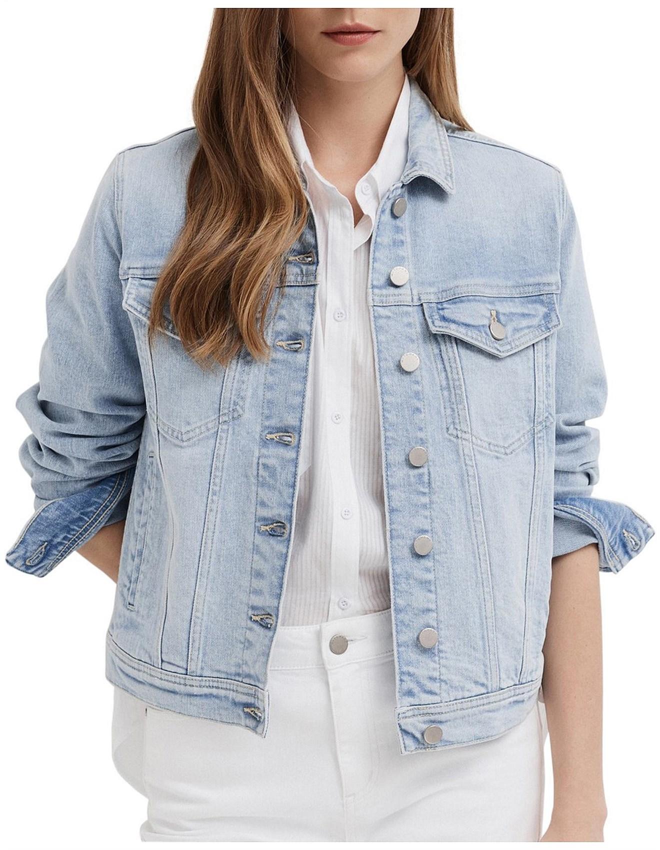 new cheap super popular pick up Women's Denim Jackets | Buy Denim Jackets Online | David Jones ...