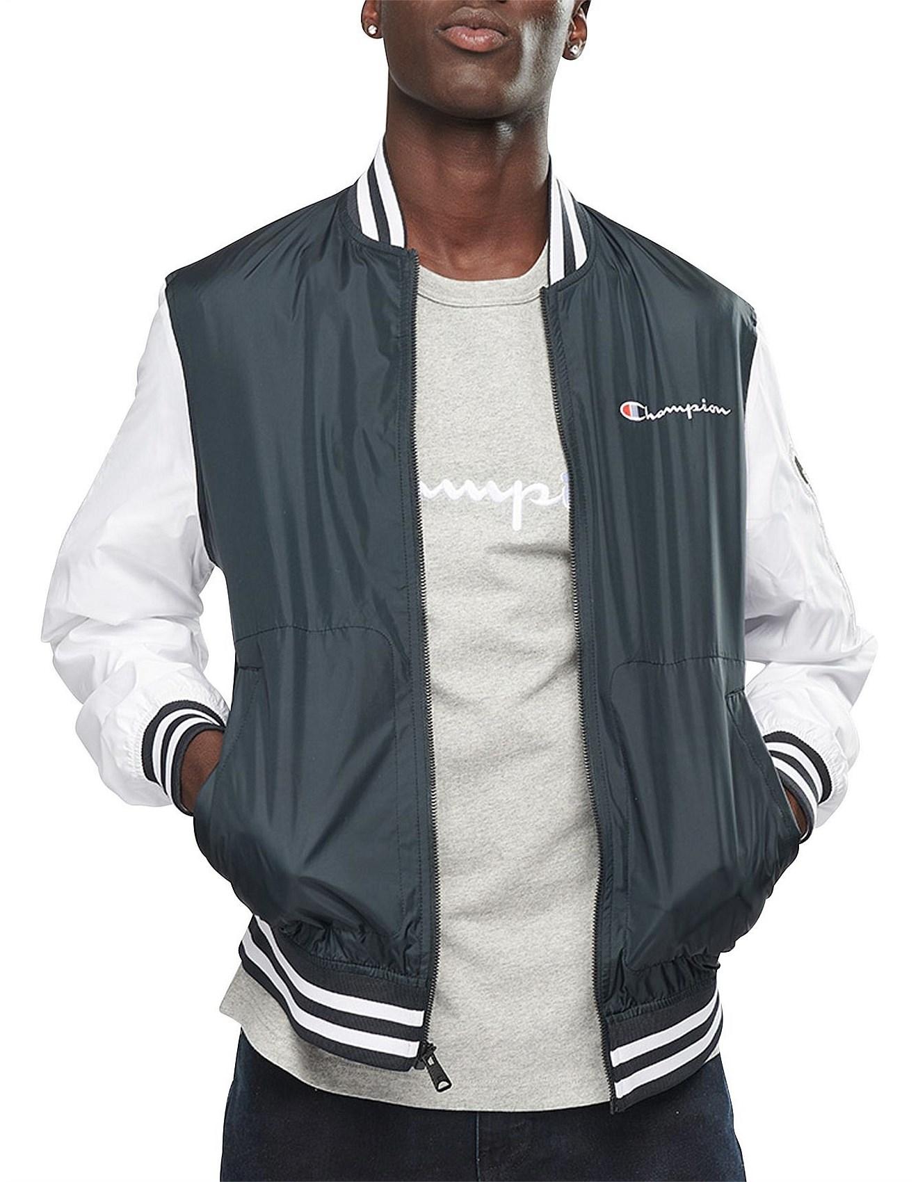 fe671ef0 Coats & Jackets - SATIN BASEBALL JKT - C-LIFE