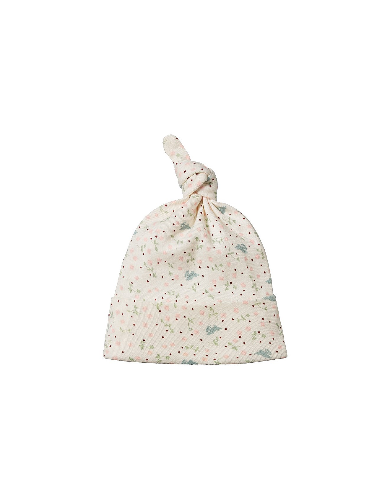 Cotton Knotted Beanie(0-6M-6-12M)