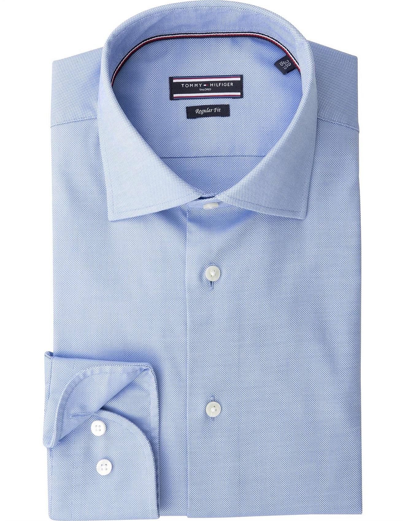 57ad0388 Slim Fit Dress Shirts | Men's Dress Shirts | David Jones - CORE ...