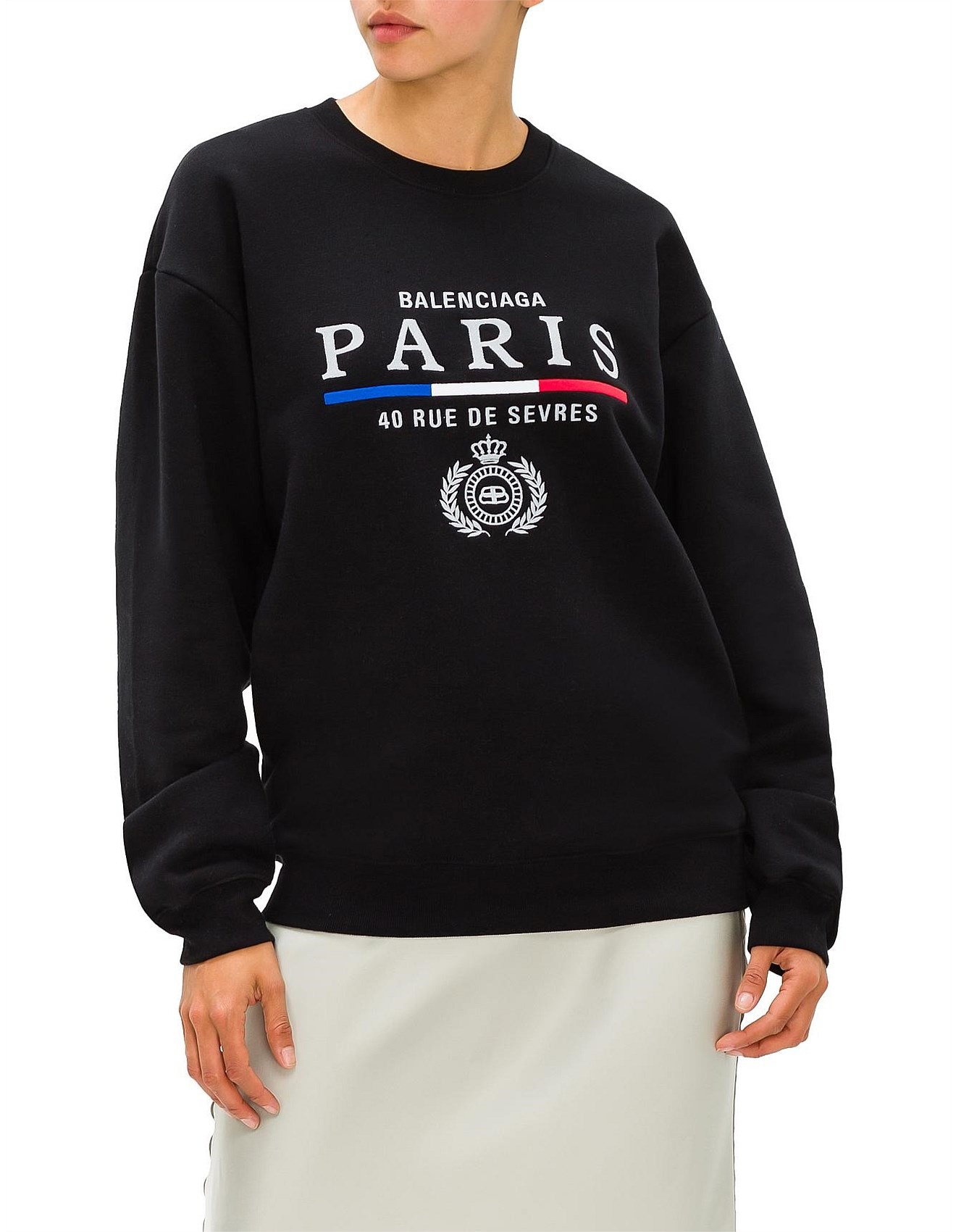 free delivery huge discount reasonable price Paris Flag Crewneck SWEAT