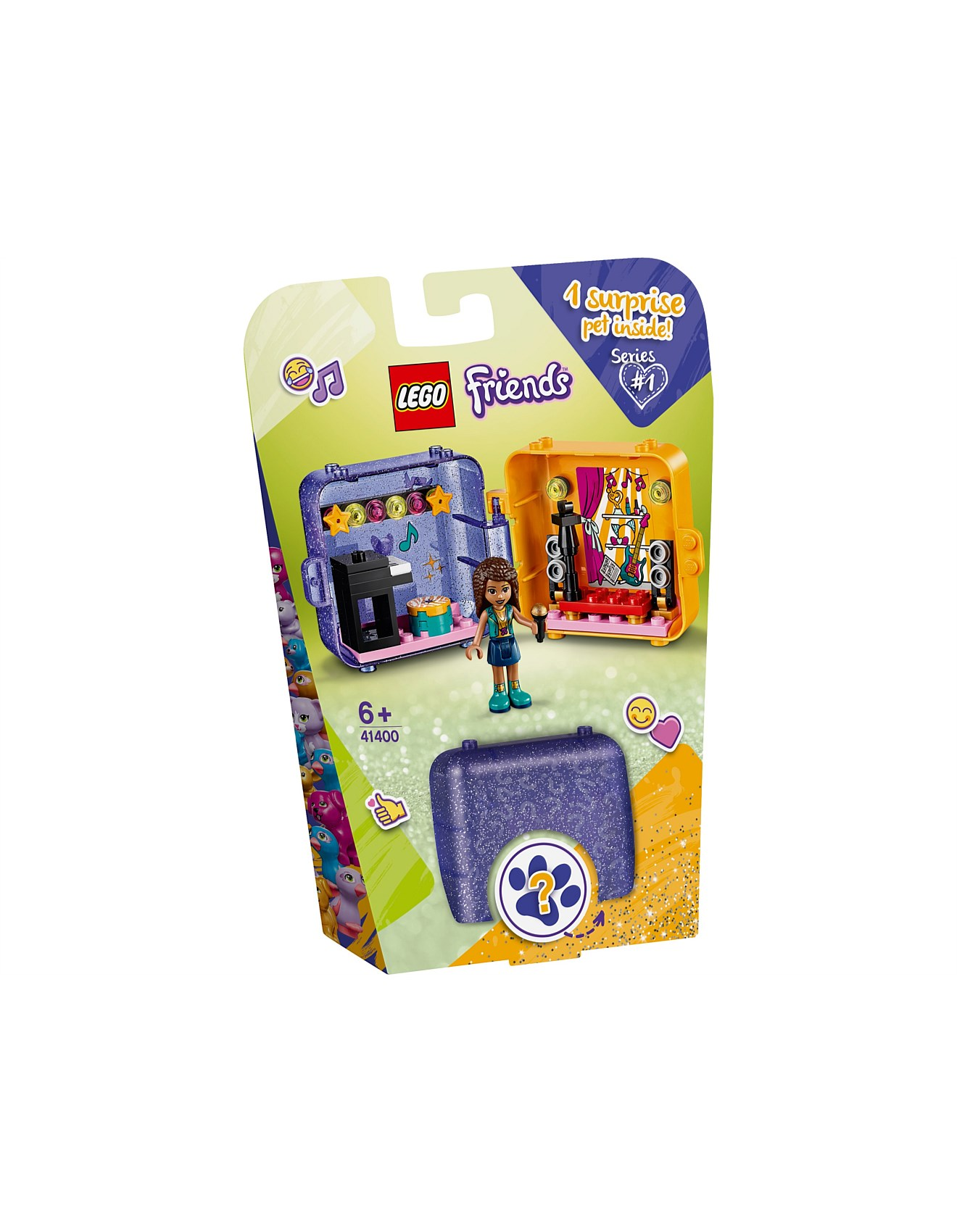 New Arrivals - LEGO Friends Andrea's Play Cube 41400