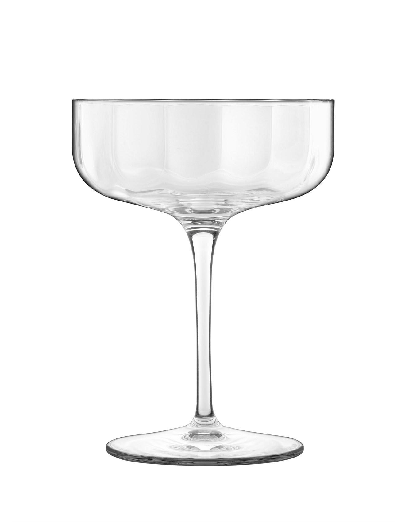 Luigi Bormioli Luigi Bormioli Glasses More David Jones Jazz Champagne Coupe 300ml Set Of Four