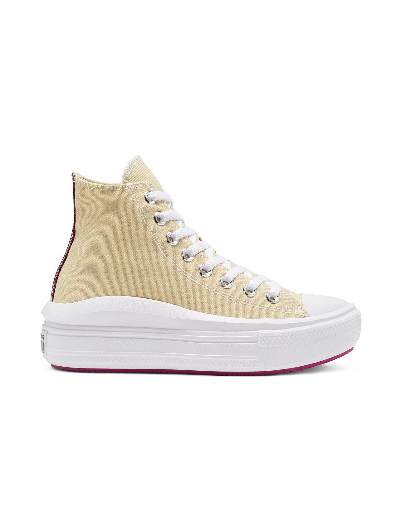 emprender tensión cebolla  Converse   Buy Converse Shoes Online   David Jones - Chuck Taylor All Star  Move Platform Hi Sneaker