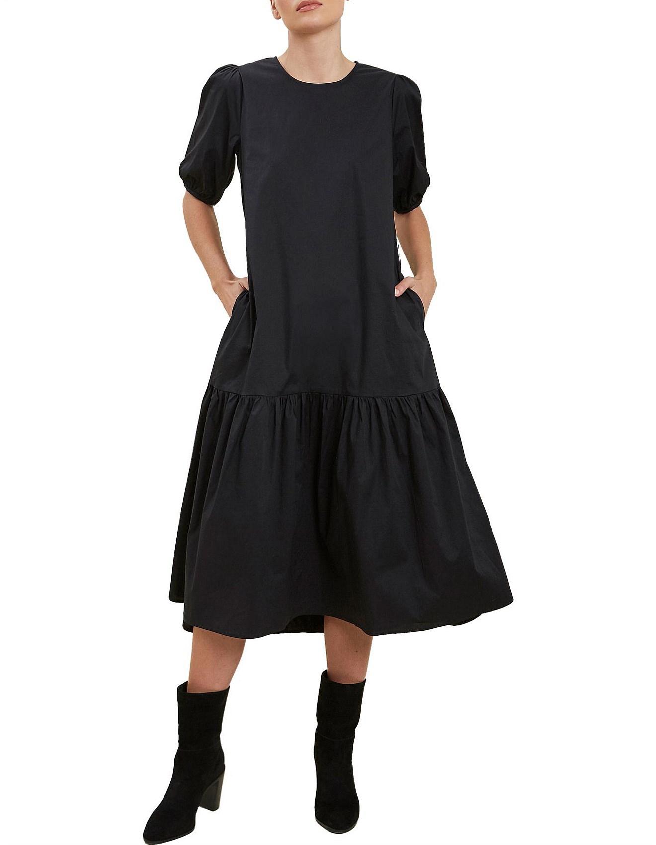 Seed Heritage   Poplin Midi Dress