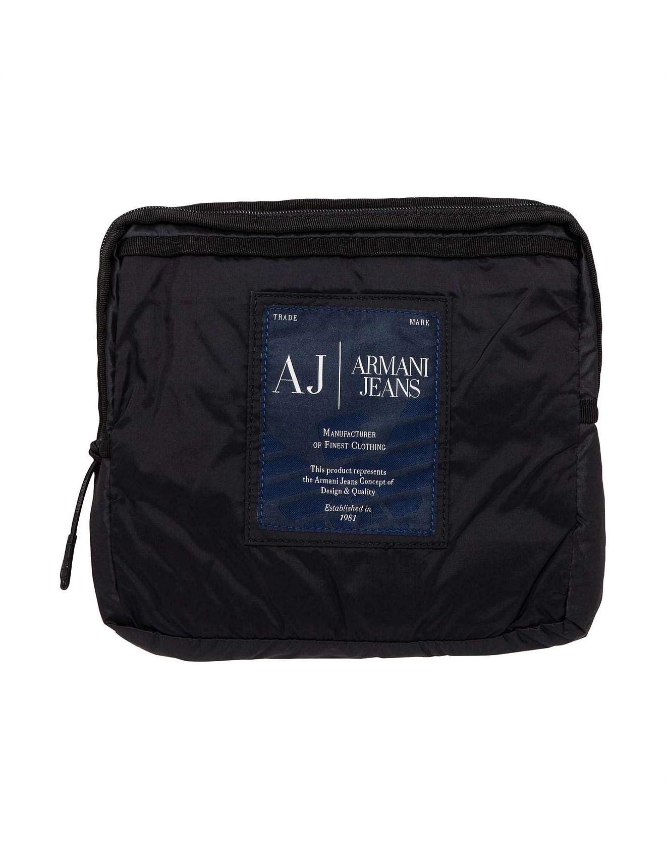 7cb9fa6dae11 Nylon Packable Backpack. 1  2  3  4. Zoom. Armani Jeans