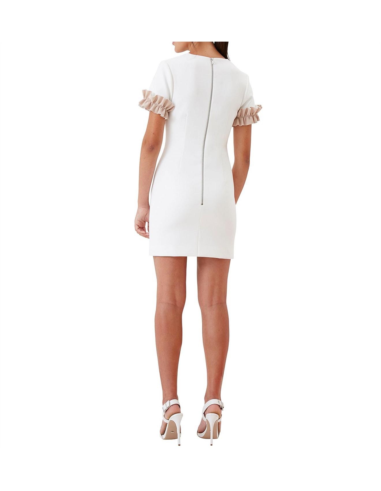 0264a0c990e6d Ruffle Sleeve Tee Mini Dress Special Offer. 1