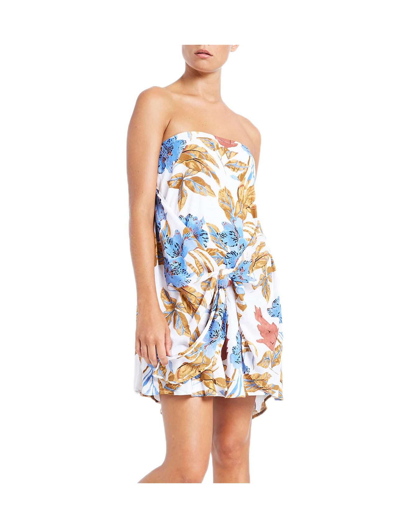 Gloria Strapless Dress