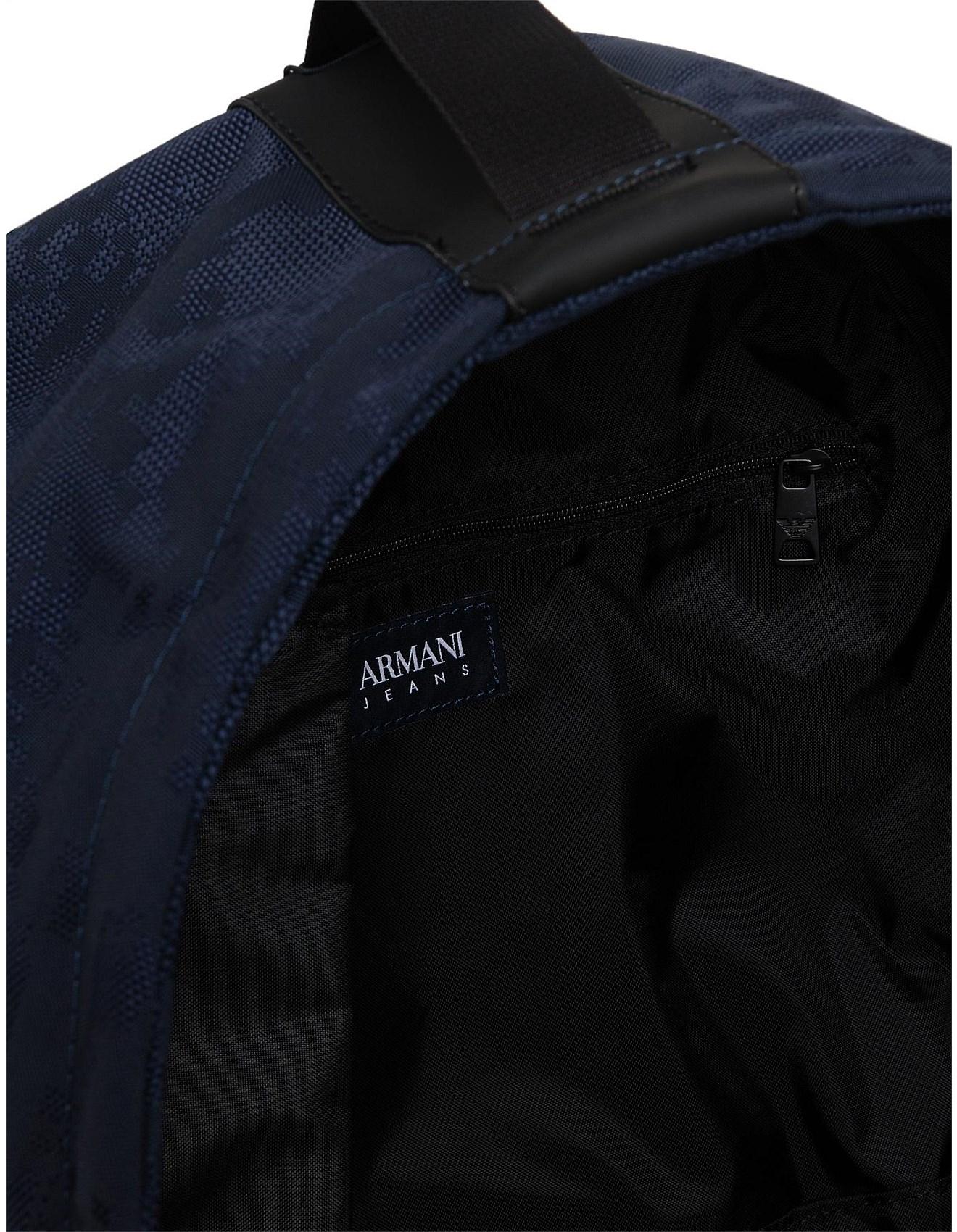 Digital camo printed nylon Backpack. 1  2  3. Zoom. Armani Jeans 34784e3fcc234