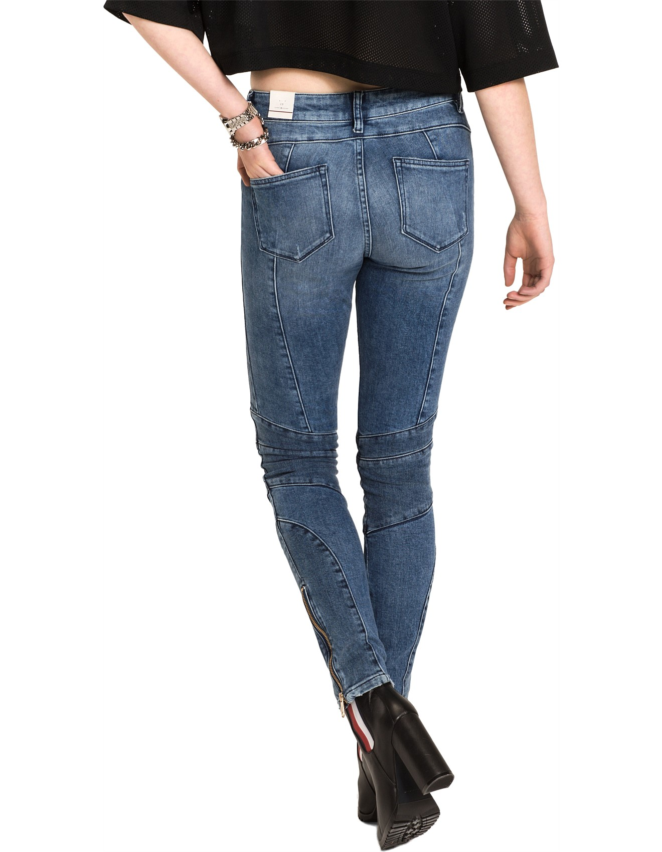 4190bbb0 Gigi Hadid Venice Jean Ankle Speed Special Offer. 1