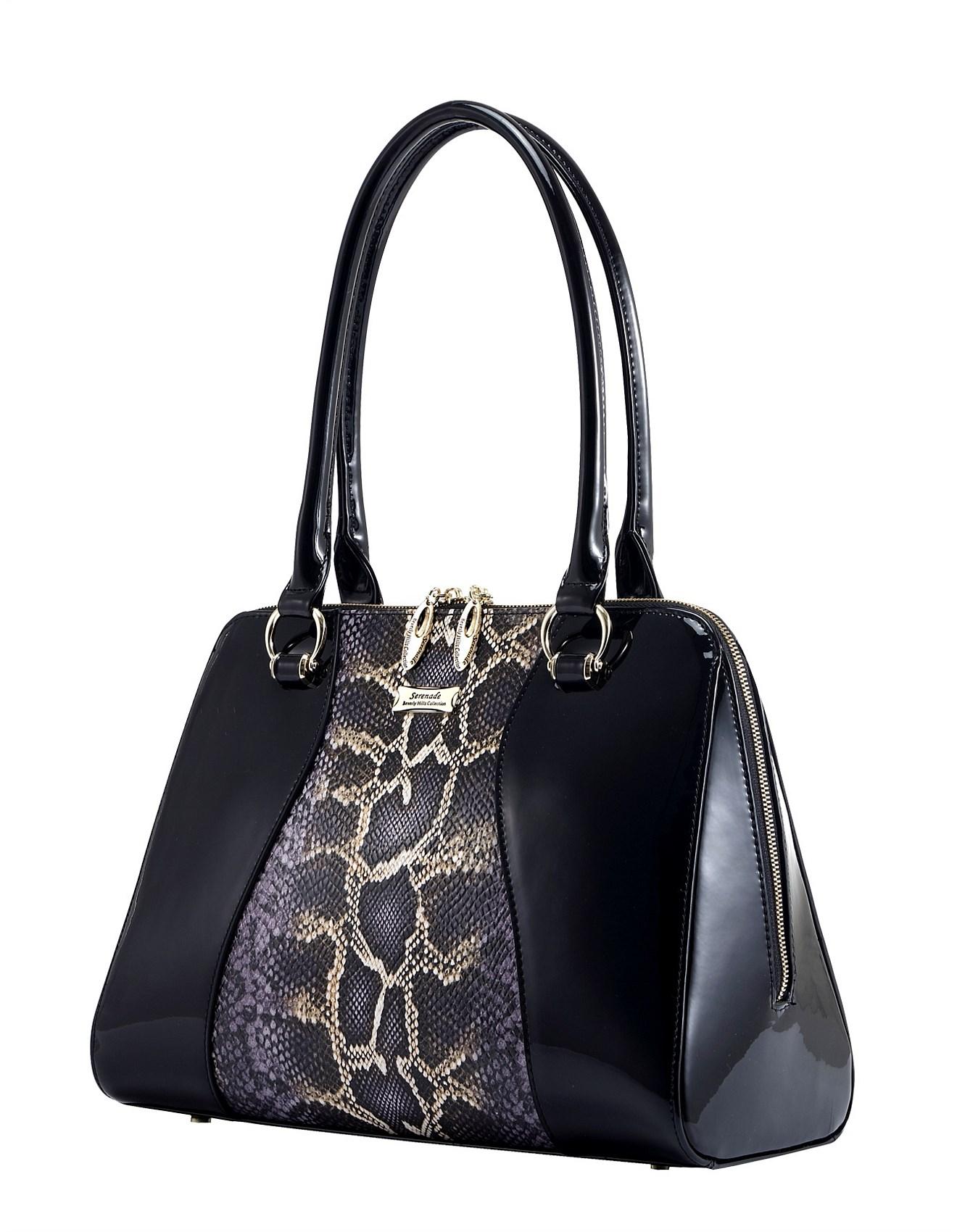 Serenade Atlanta Large Leather Handbag 1